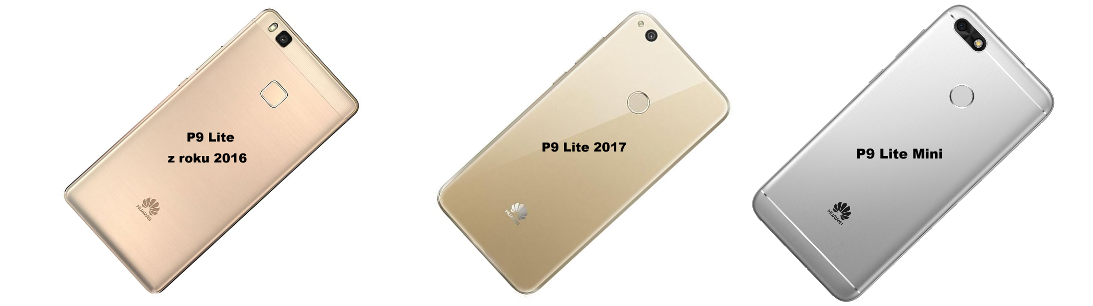 Rozdíly Huawei P9 Lite