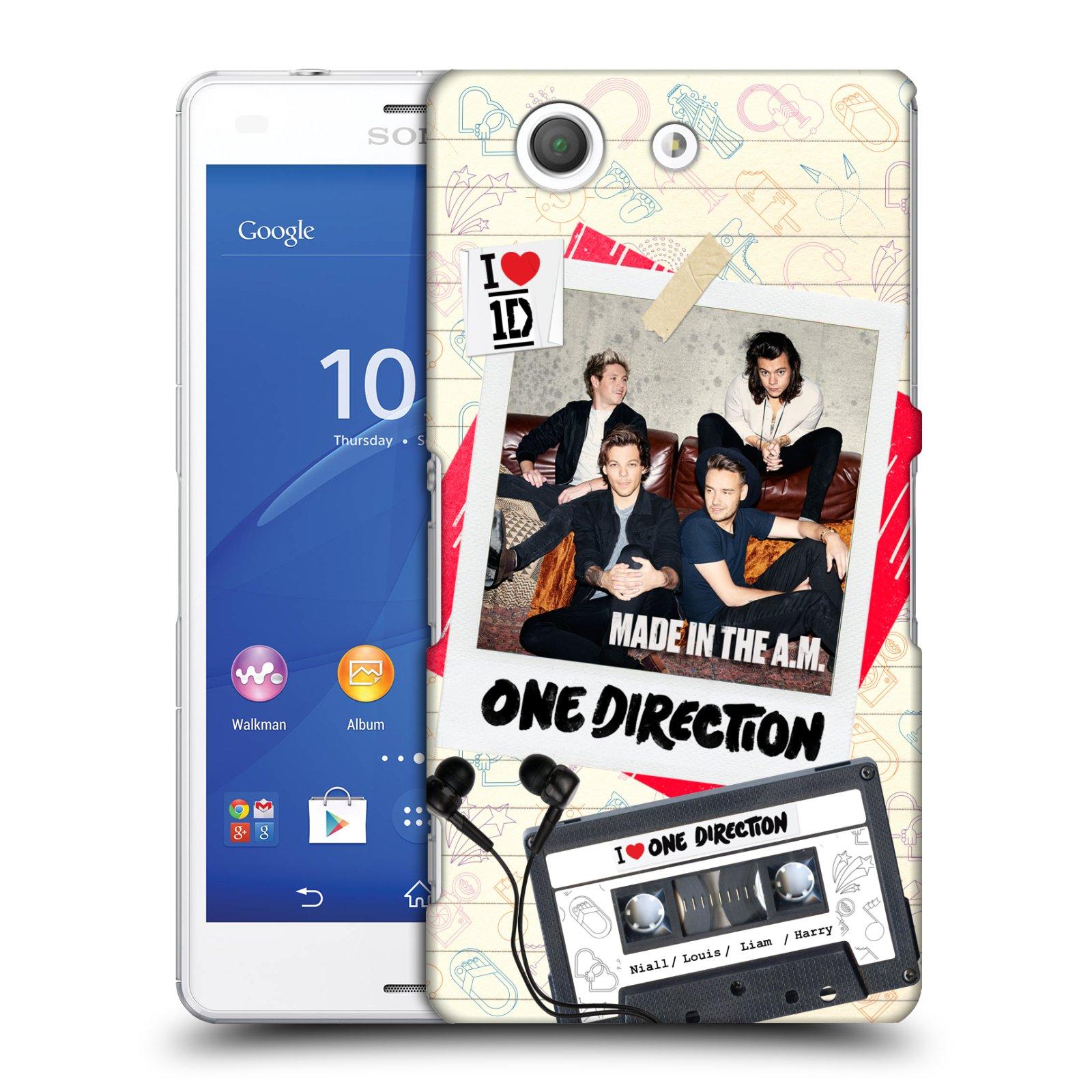 Plastové pouzdro na mobil Sony Xperia Z3 Compact D5803 HEAD CASE One Direction - Kazeta (Kryt či obal One Direction Official na mobilní telefon Sony Xperia Z3 Compact)