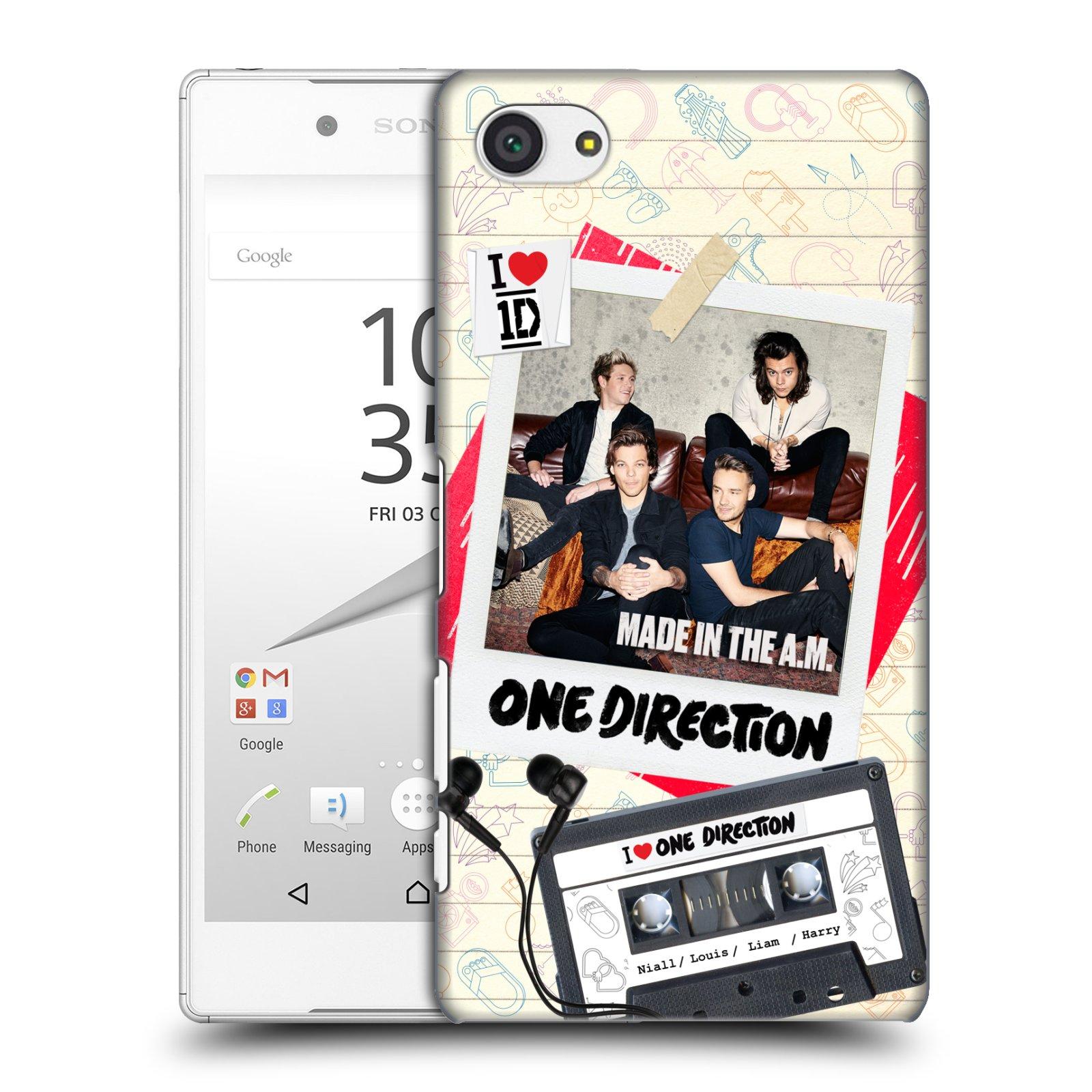 Plastové pouzdro na mobil Sony Xperia Z5 Compact HEAD CASE One Direction - Kazeta (Kryt či obal One Direction Official na mobilní telefon Sony Xperia Z5 Compact E5823)