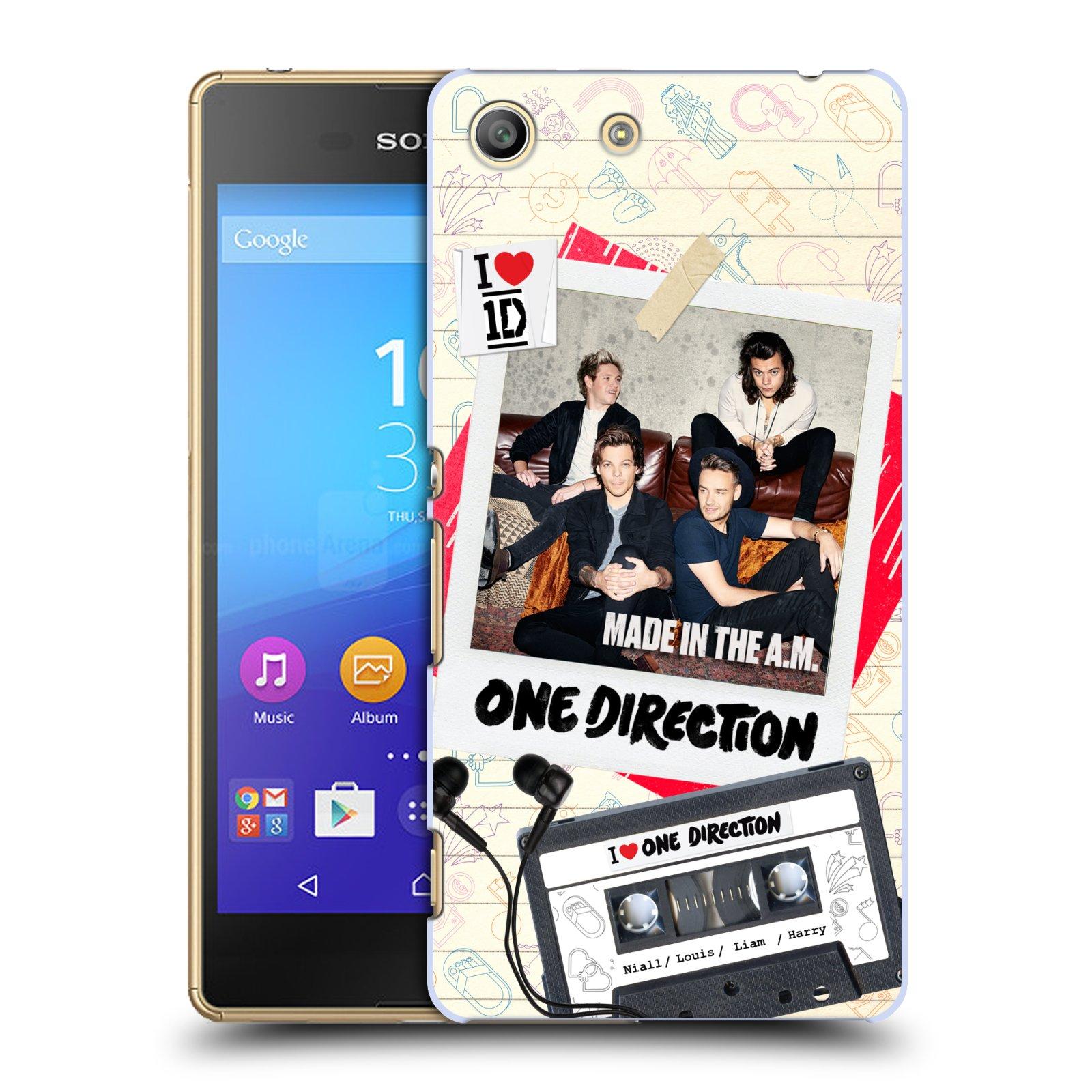Plastové pouzdro na mobil Sony Xperia M5 HEAD CASE One Direction - Kazeta (Kryt či obal One Direction Official na mobilní telefon Sony Xperia M5 Aqua)
