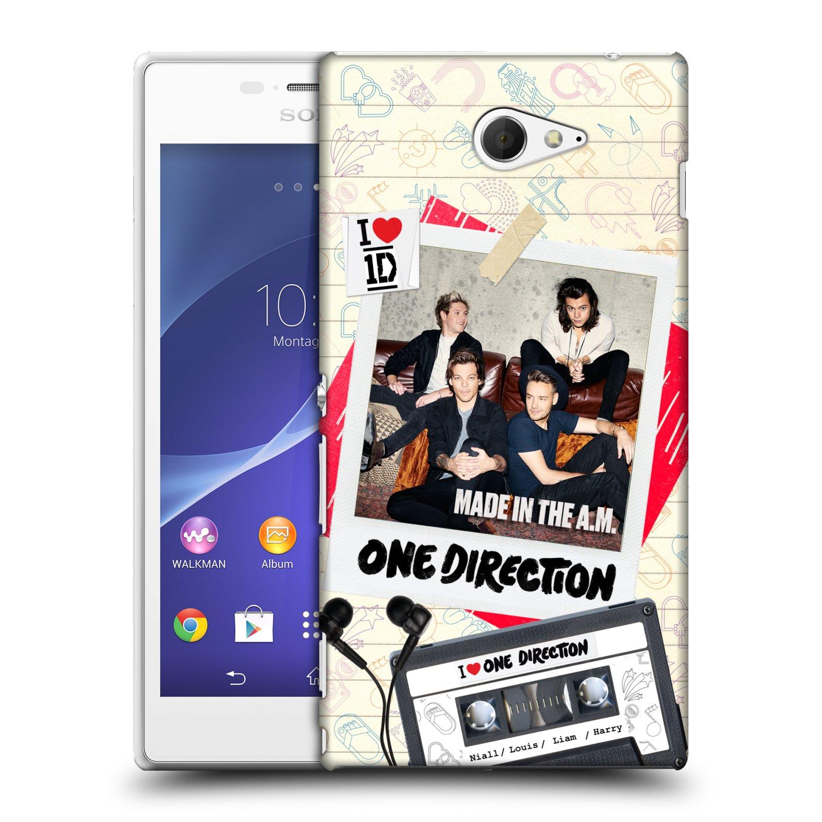 Plastové pouzdro na mobil Sony Xperia M2 D2303 HEAD CASE One Direction - Kazeta (Kryt či obal One Direction Official na mobilní telefon Sony Xperia M2 )