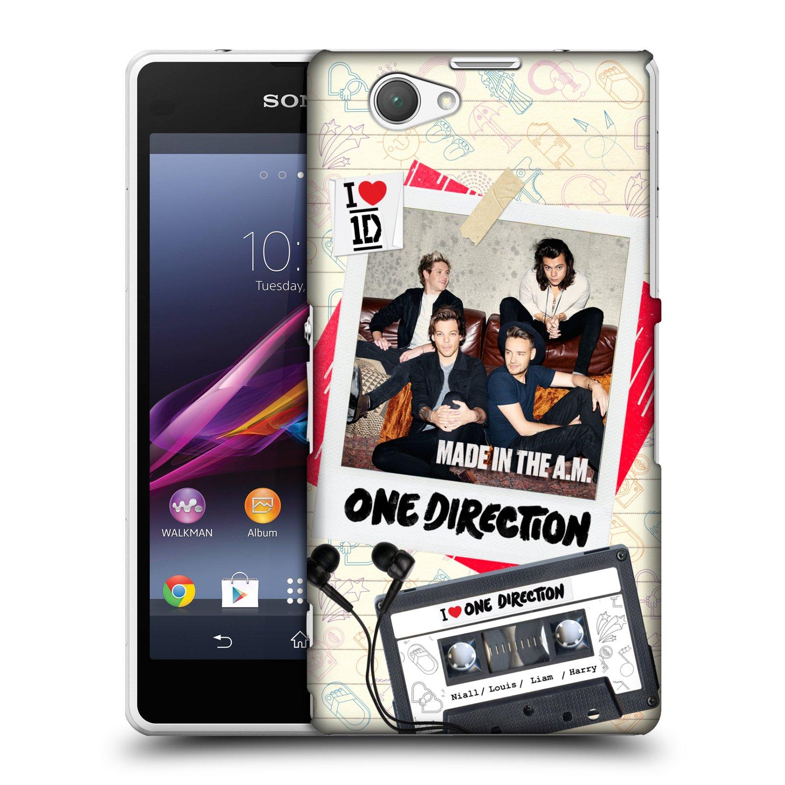 Plastové pouzdro na mobil Sony Xperia Z1 Compact D5503 HEAD CASE One Direction - Kazeta (Kryt či obal One Direction Official na mobilní telefon Sony Xperia Z1 Compact)