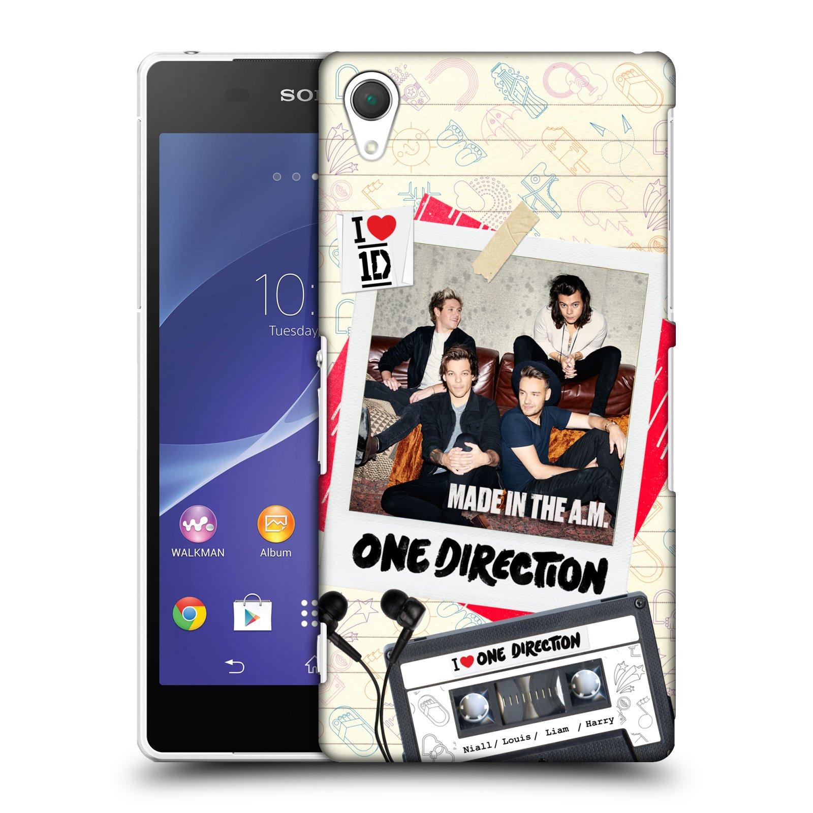 Plastové pouzdro na mobil Sony Xperia Z2 D6503 HEAD CASE One Direction - Kazeta (Kryt či obal One Direction Official na mobilní telefon Sony Xperia Z2)