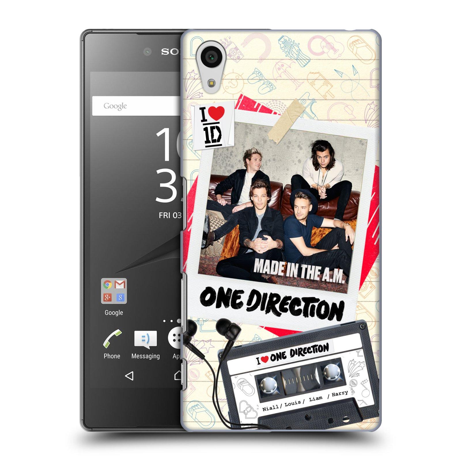 Plastové pouzdro na mobil Sony Xperia Z5 HEAD CASE One Direction - Kazeta (Kryt či obal One Direction Official na mobilní telefon Sony Xperia Z5 E6653)