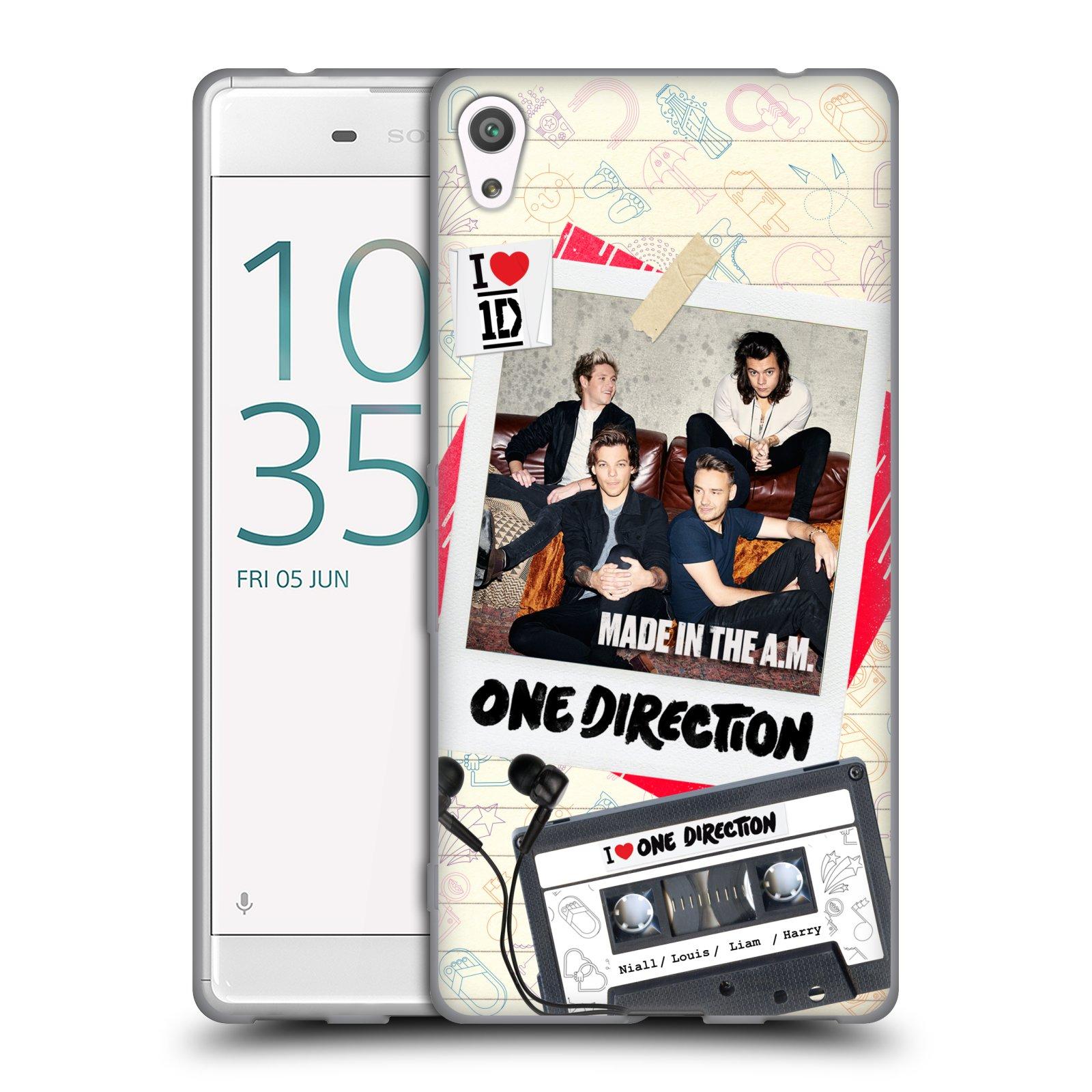 Silikonové pouzdro na mobil Sony Xperia XA Ultra HEAD CASE One Direction - Kazeta (Silikonový kryt či obal One Direction Official na mobilní telefon Sony Xperia XA Ultra F3211)