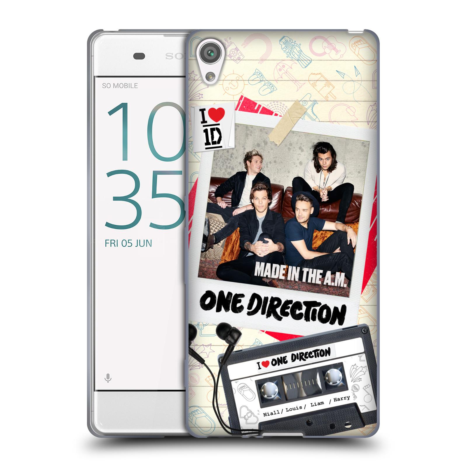 Silikonové pouzdro na mobil Sony Xperia XA HEAD CASE One Direction - Kazeta (Silikonový kryt či obal One Direction Official na mobilní telefon Sony Xperia XA F3111 / Dual SIM F3112)