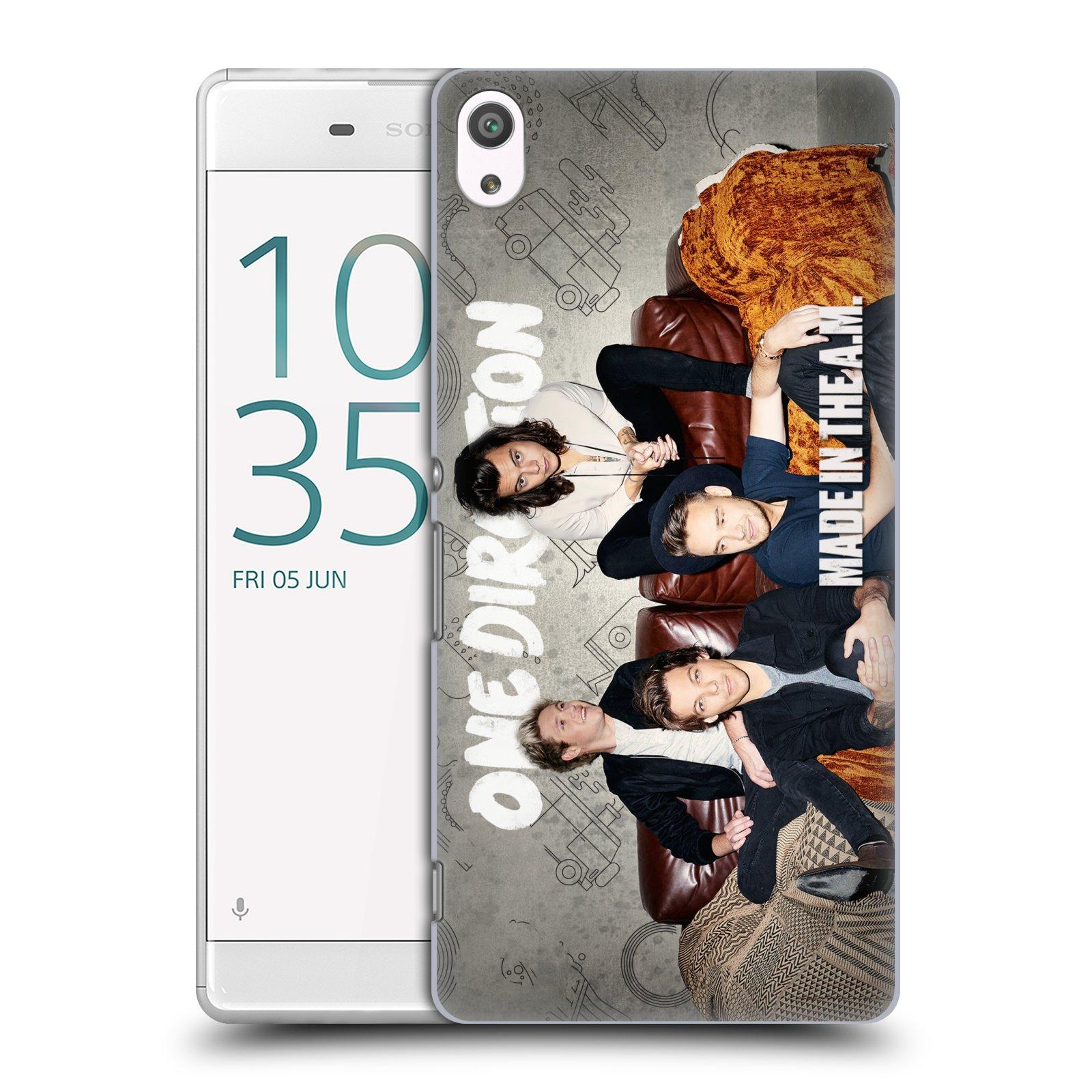 Plastové pouzdro na mobil Sony Xperia XA Ultra HEAD CASE One Direction - Na Gaučíku