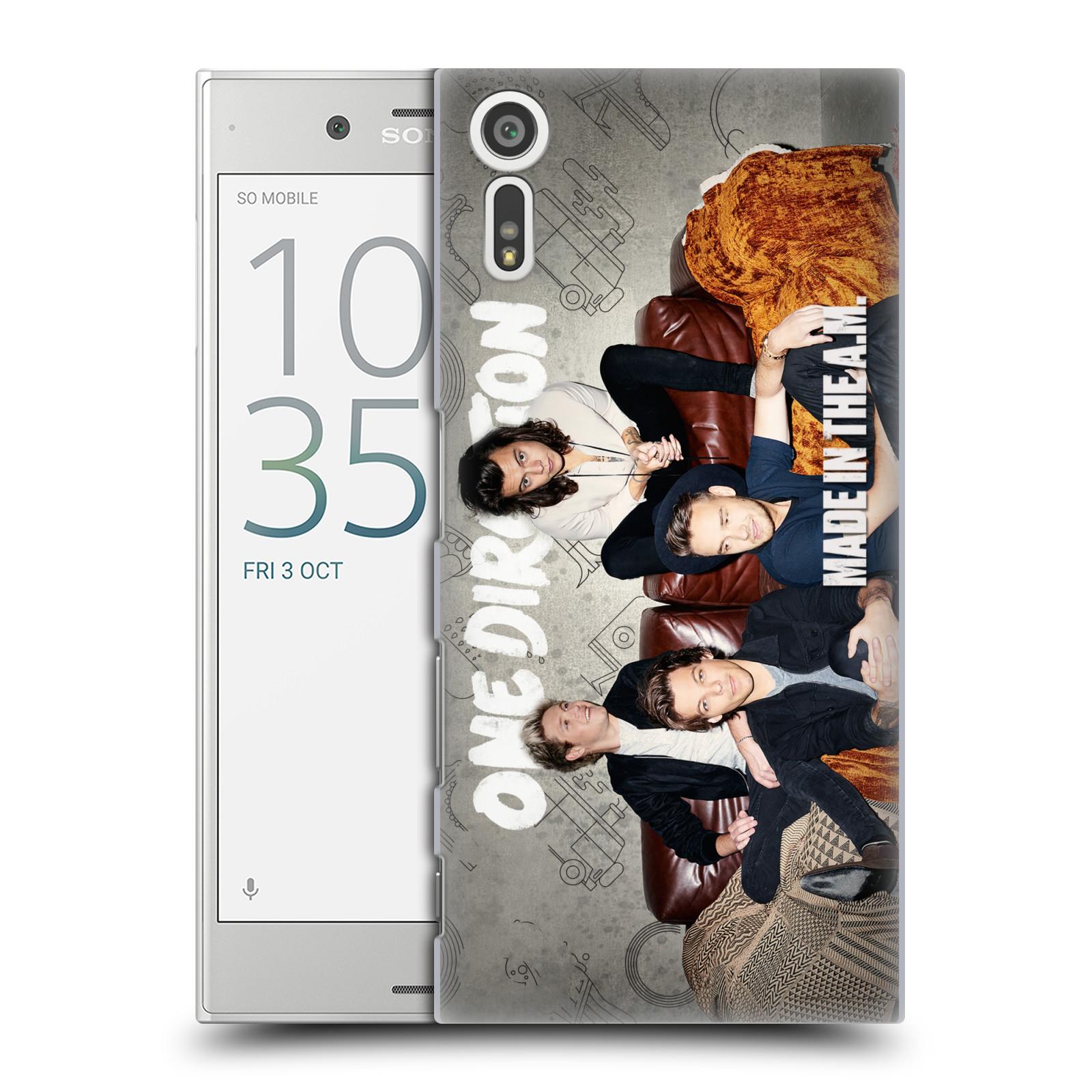 Plastové pouzdro na mobil Sony Xperia XZ - Head Case One Direction - Na Gaučíku