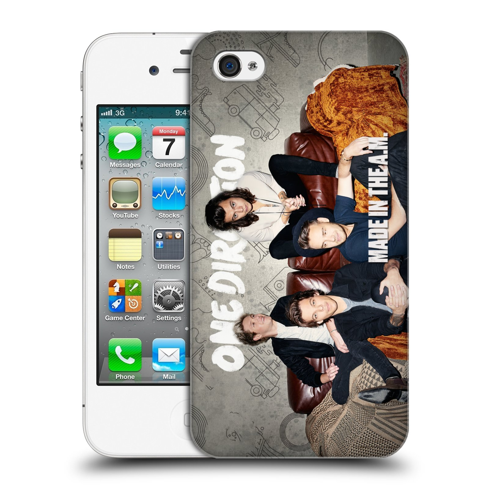 Plastové pouzdro na mobil Apple iPhone 4 a 4S HEAD CASE One Direction - Na  Gaučíku empty 0575d70a124