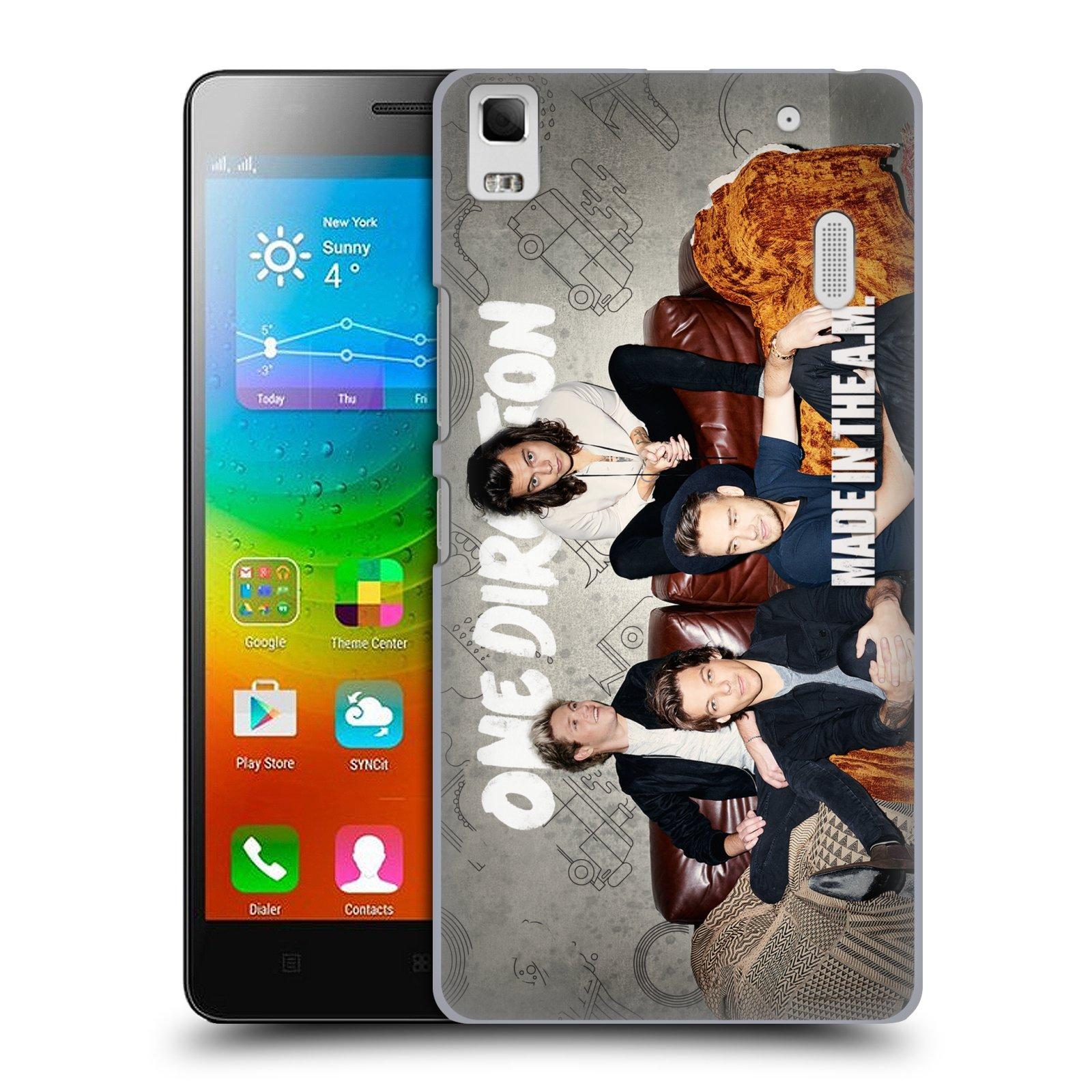 Plastové pouzdro na mobil Lenovo A7000 HEAD CASE One Direction - Na Gaučíku
