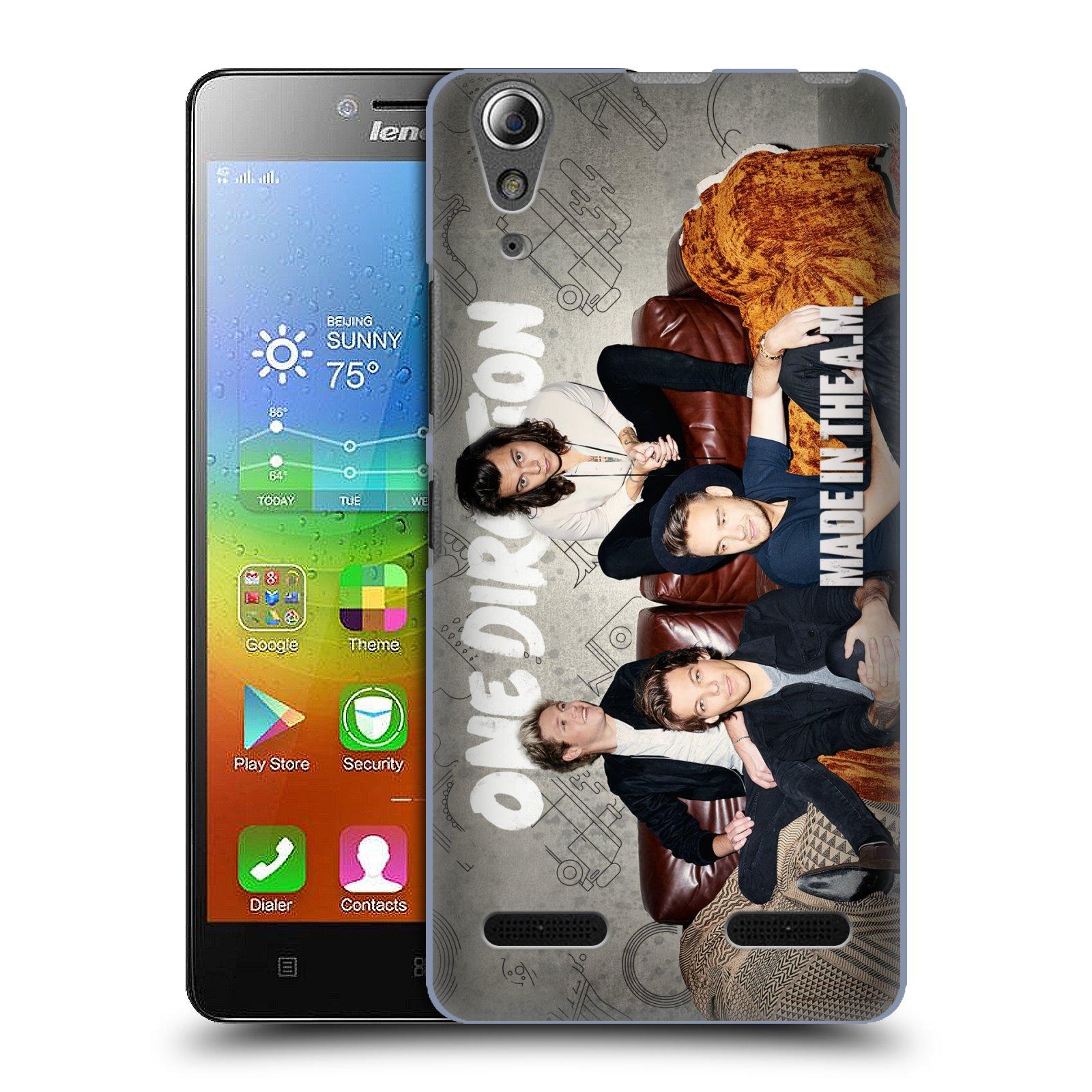 Plastové pouzdro na mobil Lenovo A6000 HEAD CASE One Direction - Na Gaučíku