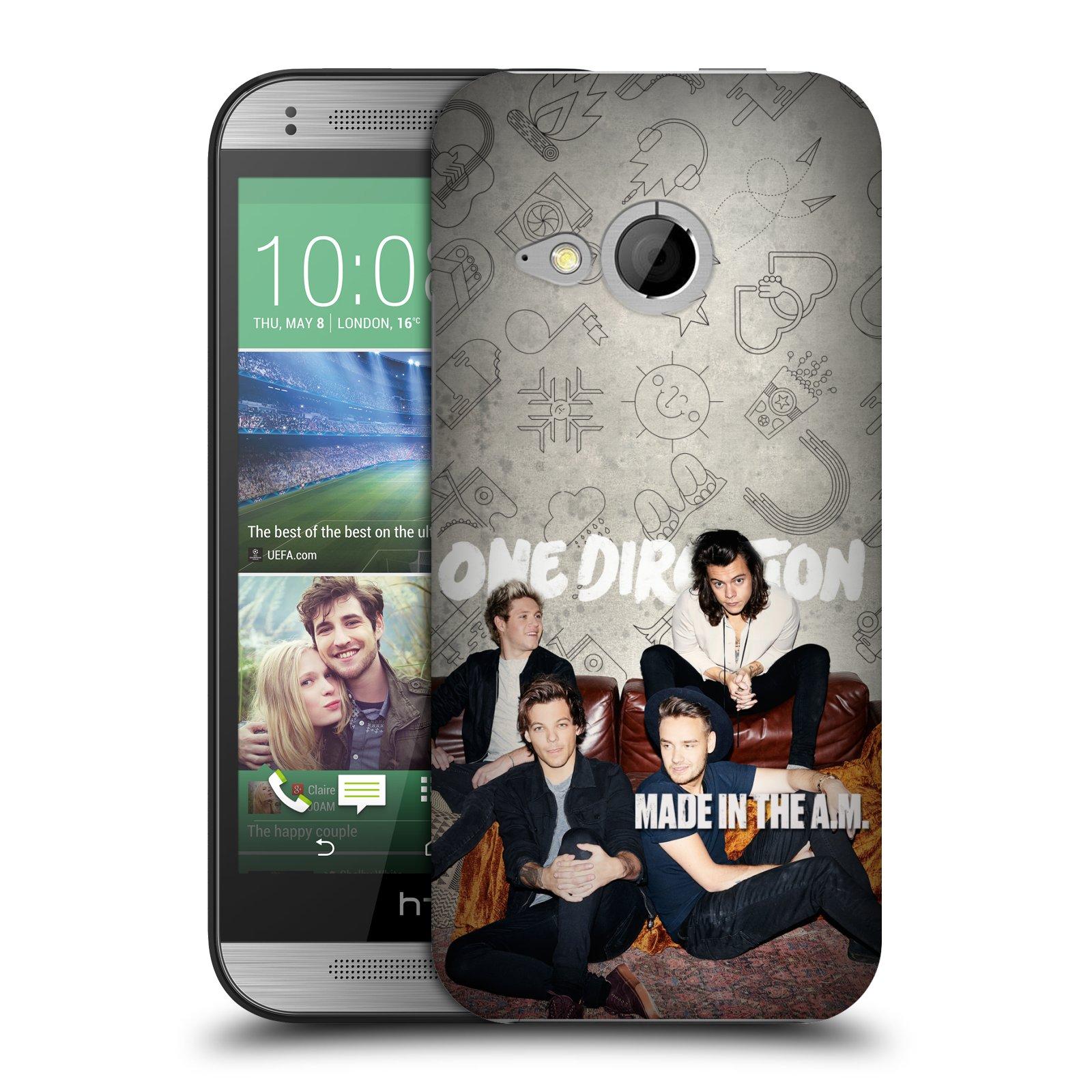 Plastové pouzdro na mobil HTC ONE Mini 2 HEAD CASE One Direction - Na Gaučíku (Kryt či obal One Direction Official na mobilní telefon HTC ONE Mini 2)