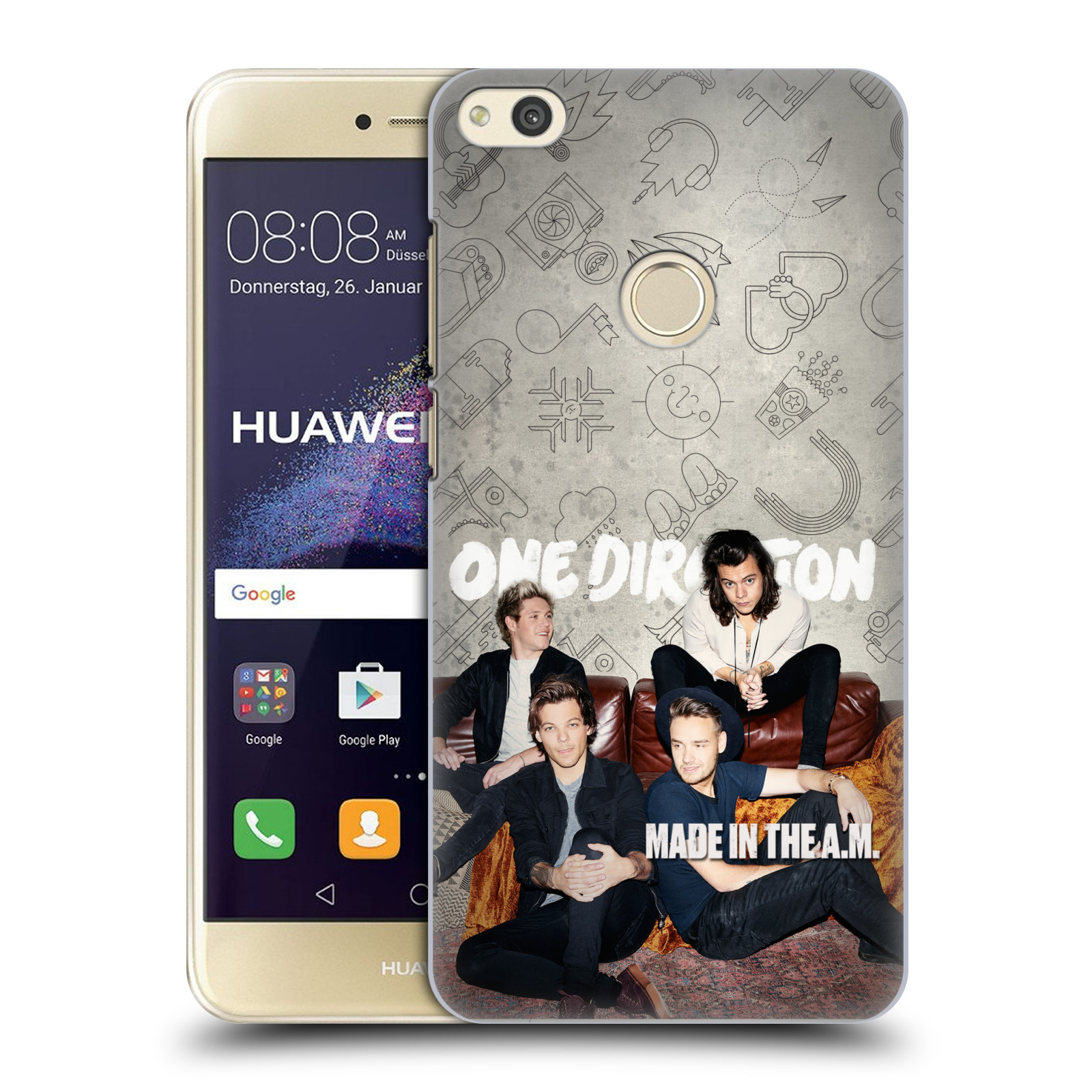 Plastové pouzdro na mobil Huawei P9 Lite (2017) - Head Case One Direction - Na Gaučíku