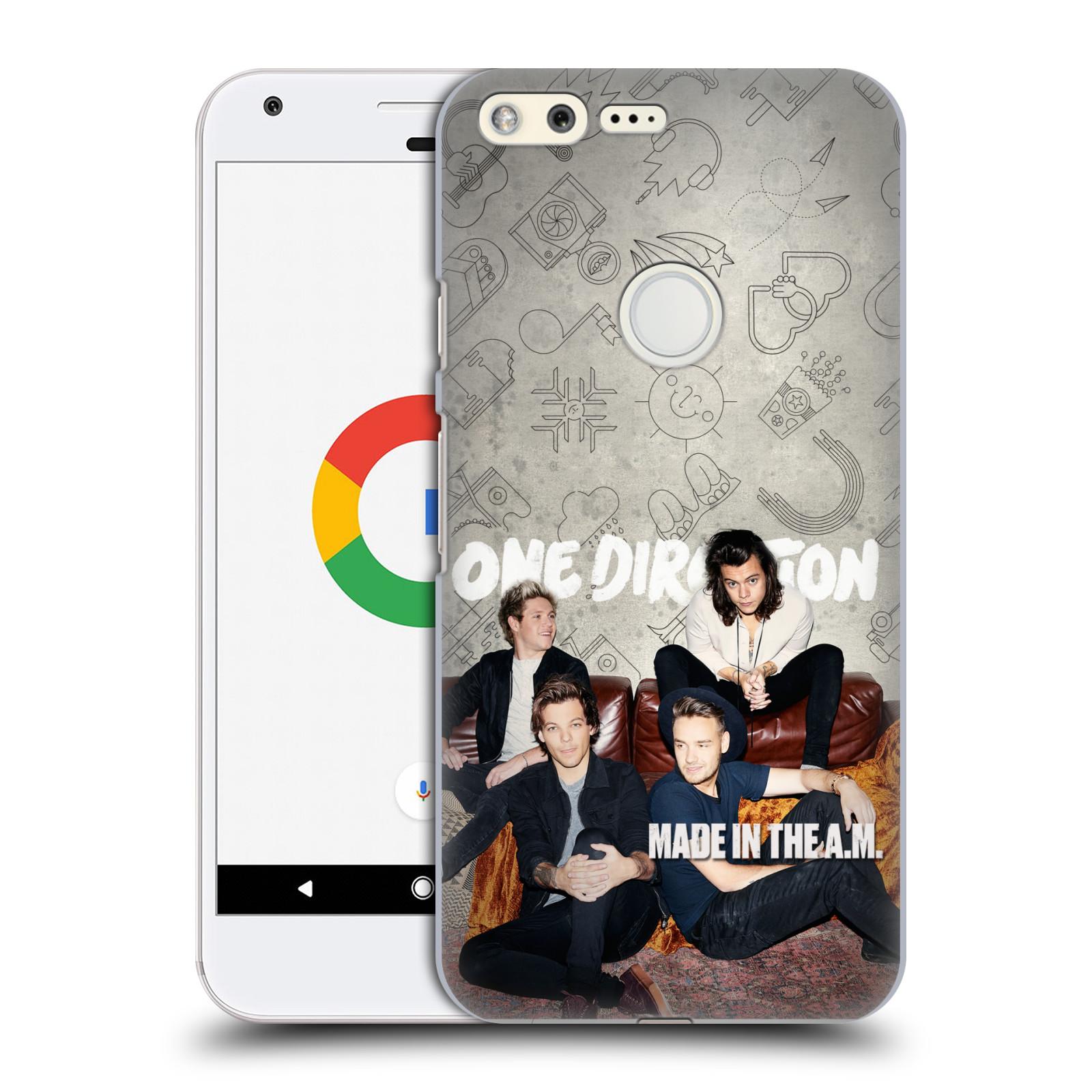 Plastové pouzdro na mobil Google Pixel HEAD CASE One Direction - Na Gaučíku