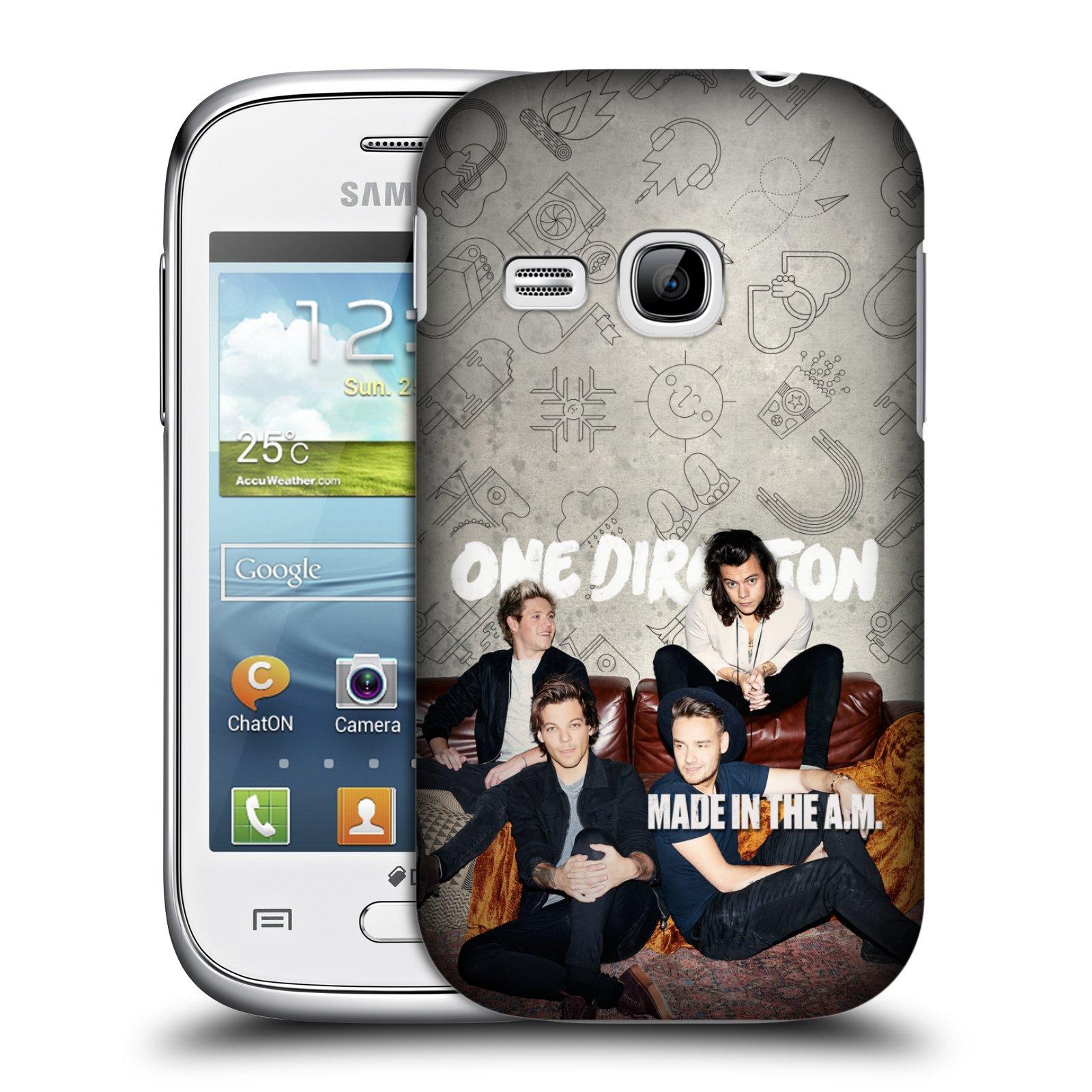Plastové pouzdro na mobil Samsung Galaxy Young HEAD CASE One Direction - Na Gaučíku (Kryt či obal One Direction Official na mobilní telefon Samsung Galaxy Young GT-S6310)