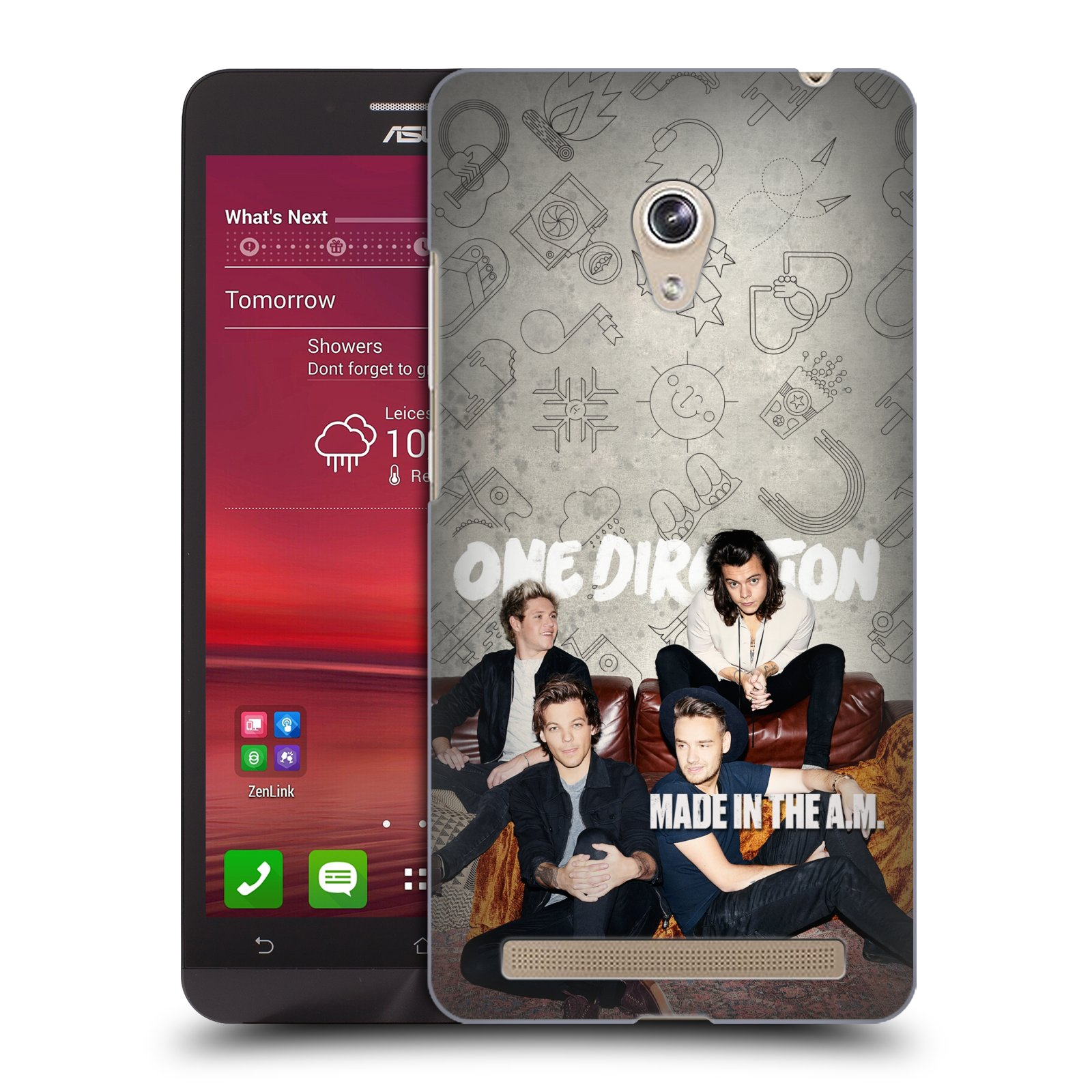 Plastové pouzdro na mobil Asus Zenfone 6 HEAD CASE One Direction - Na Gaučíku (Kryt či obal One Direction Official na mobilní telefon Asus Zenfone 6 A600CG / A601CG)