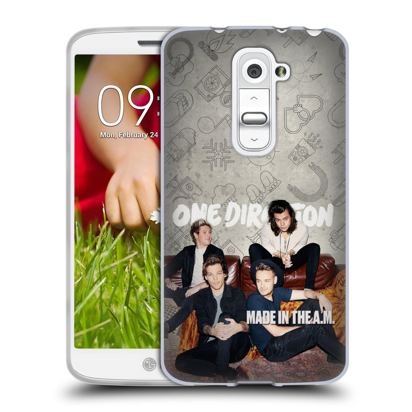 Silikonové pouzdro na mobil LG G2 Mini HEAD CASE One Direction - Na Gaučíku (Silikonový kryt či obal One Direction Official na mobilní telefon LG G2 Mini D620)