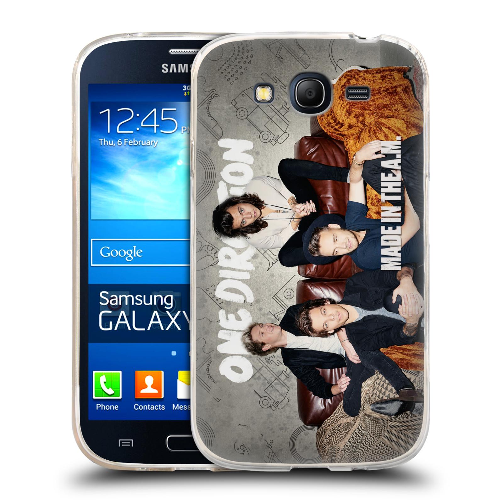 Silikonové pouzdro na mobil Samsung Galaxy Grand Neo HEAD CASE One Direction - Na Gaučíku
