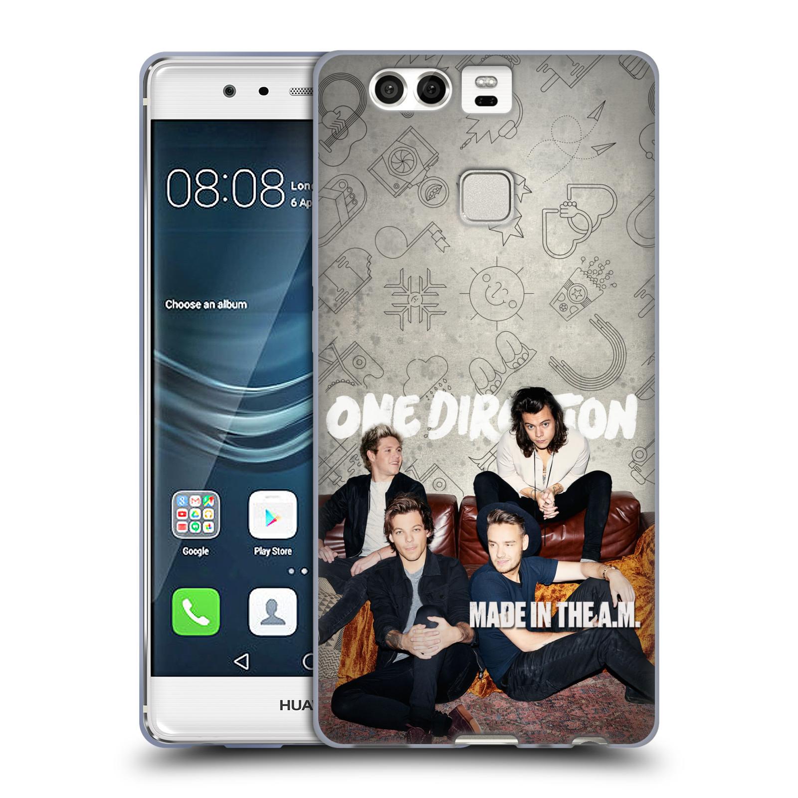 Silikonové pouzdro na mobil Huawei P9 HEAD CASE One Direction - Na Gaučíku