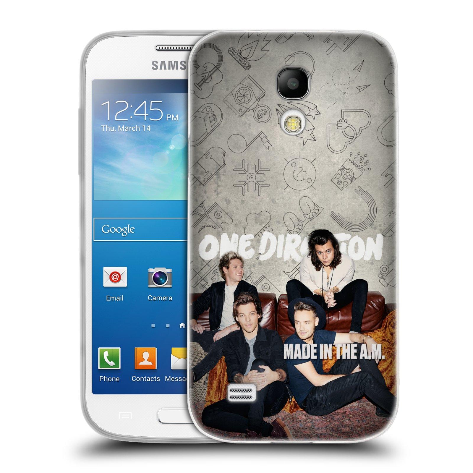 Silikonové pouzdro na mobil Samsung Galaxy S4 Mini VE HEAD CASE One Direction - Na Gaučíku