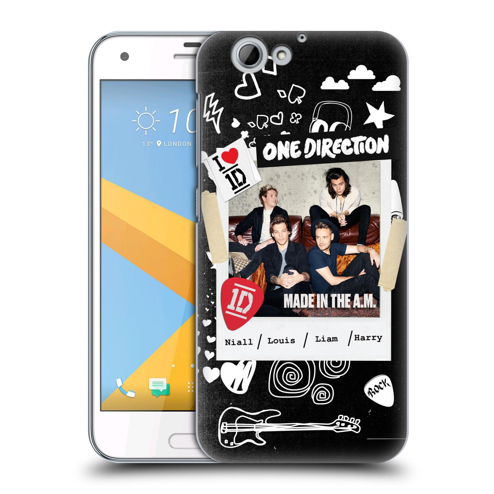 Plastové pouzdro na mobil HTC One A9s Head Case - One Direction - S kytárou (Plastový kryt či obal One Direction Official na mobilní telefon HTC One A9s (A9 s))