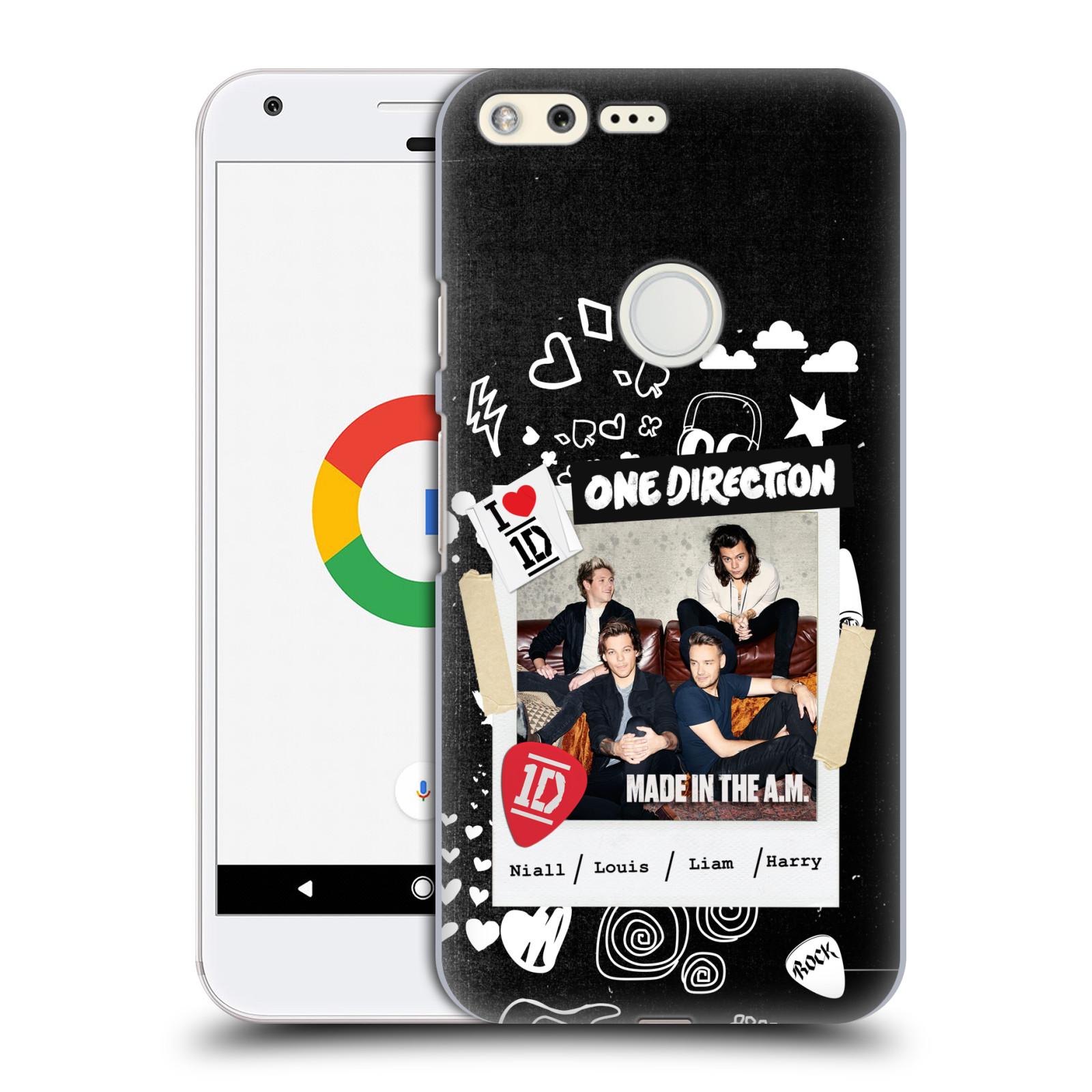 Plastové pouzdro na mobil Google Pixel HEAD CASE One Direction - S kytárou