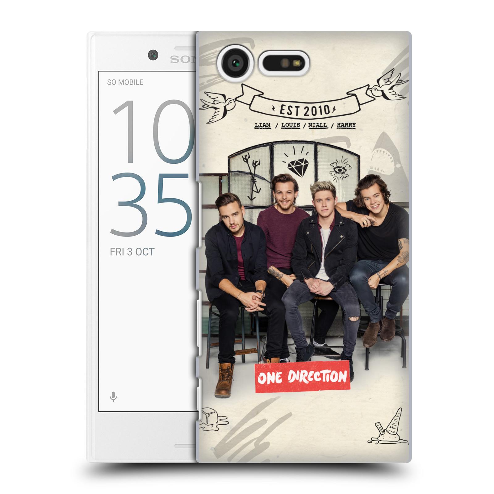 Plastové pouzdro na mobil Sony Xperia X Compact HEAD CASE One Direction - EST 2010