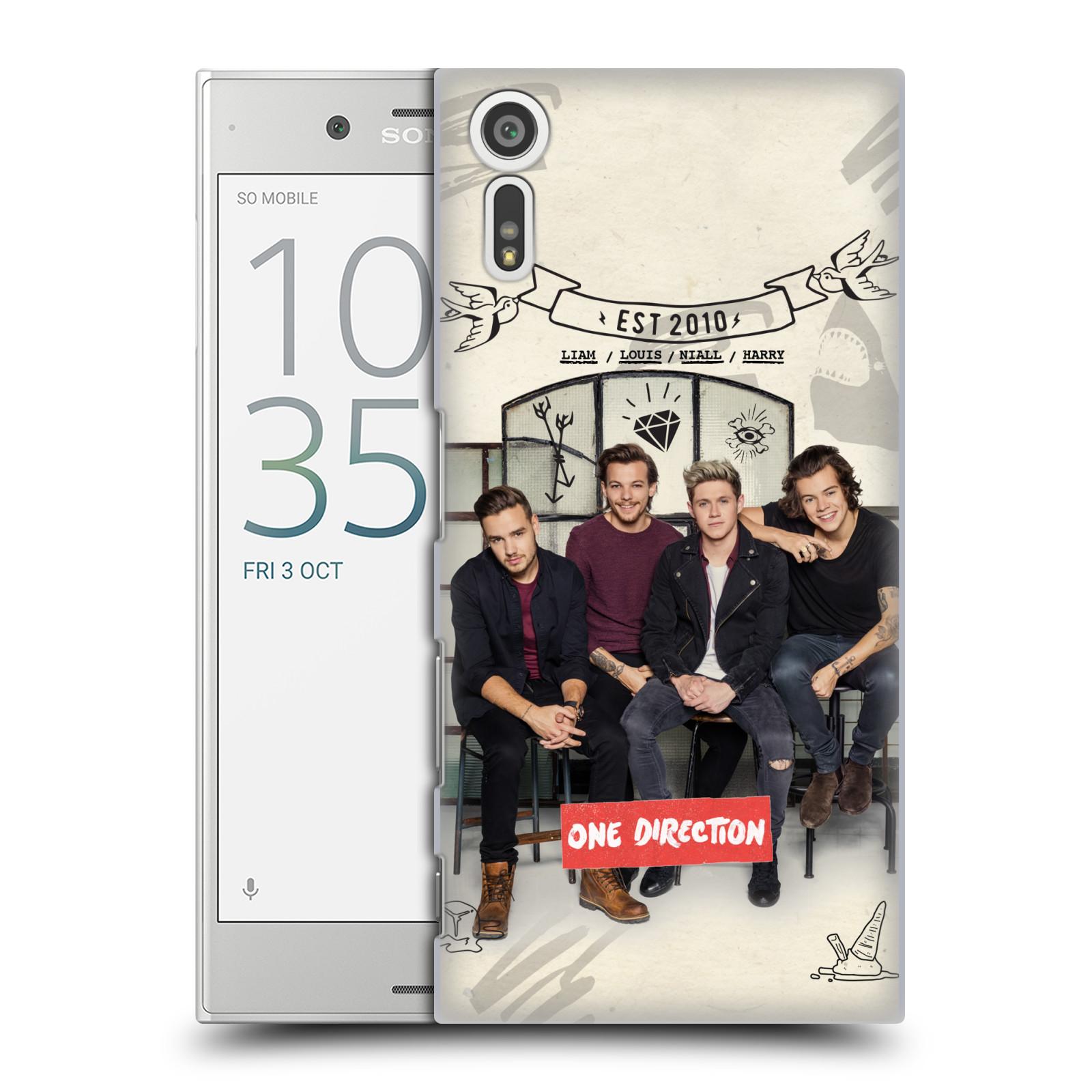 Plastové pouzdro na mobil Sony Xperia XZ - Head Case One Direction - EST 2010