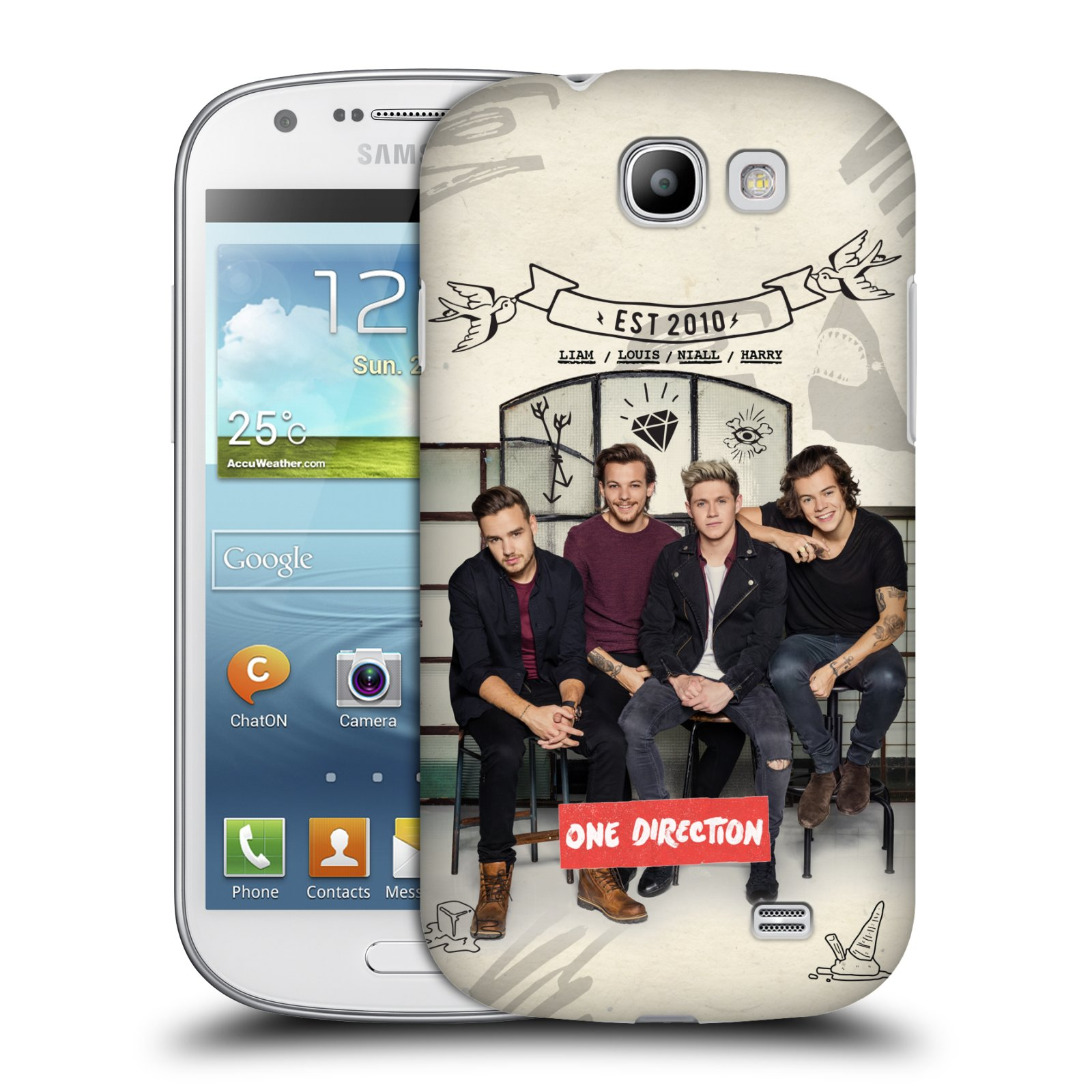 Plastové pouzdro na mobil Samsung Galaxy Express HEAD CASE One Direction - EST 2010 (Kryt či obal One Direction Official na mobilní telefon Samsung Galaxy Express GT-i8730)