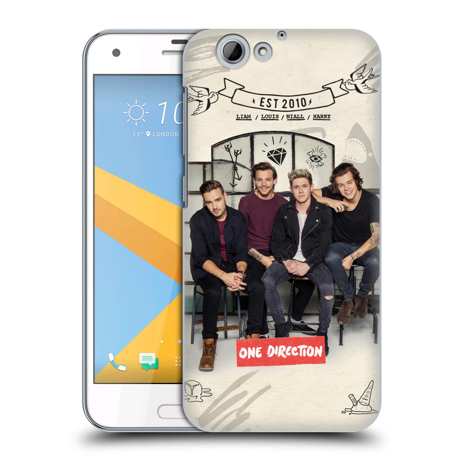 Plastové pouzdro na mobil HTC One A9s Head Case - One Direction - EST 2010 (Plastový kryt či obal One Direction Official na mobilní telefon HTC One A9s (A9 s))