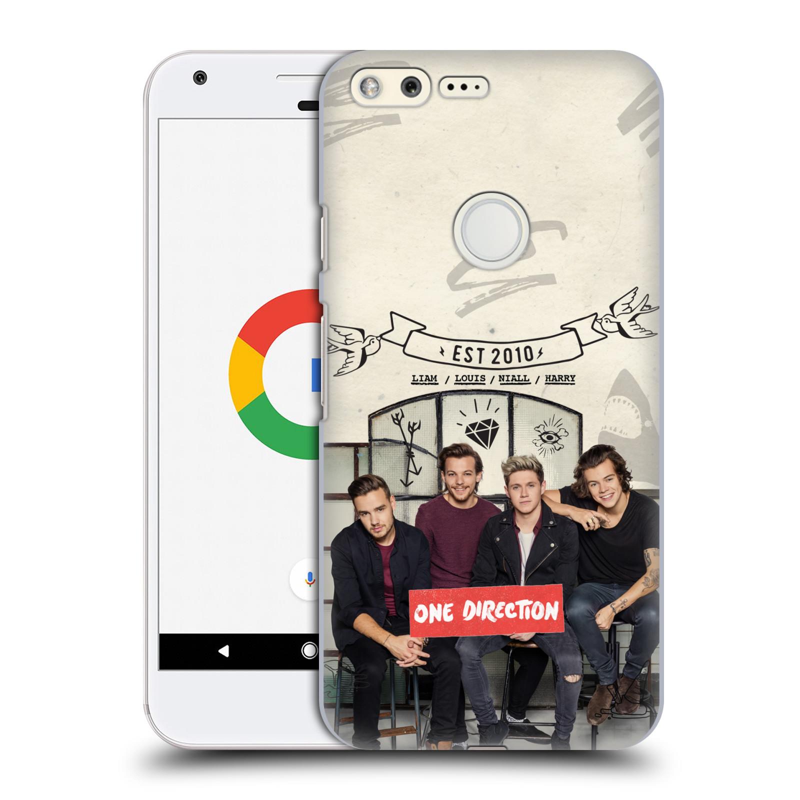 Plastové pouzdro na mobil Google Pixel HEAD CASE One Direction - EST 2010