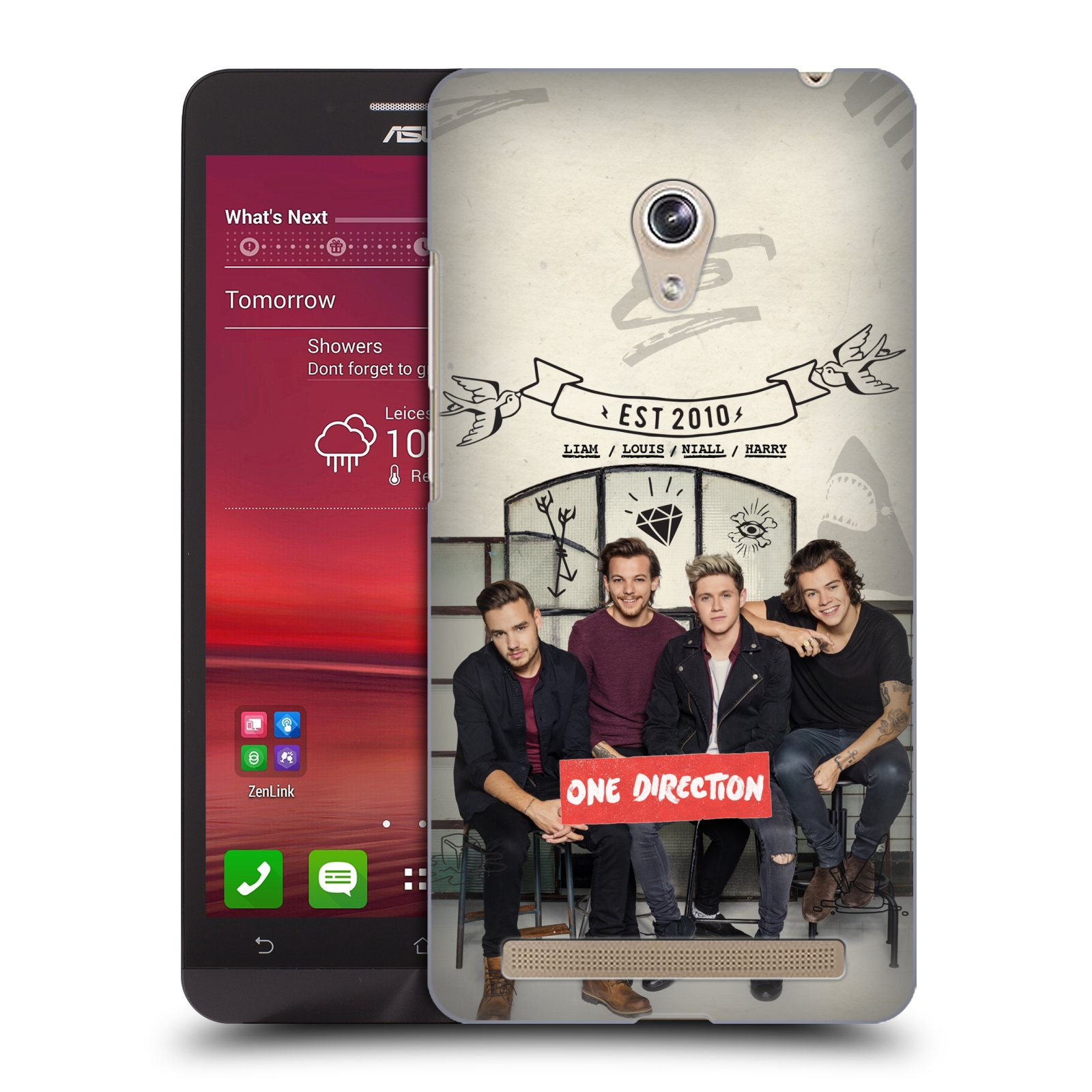 Plastové pouzdro na mobil Asus Zenfone 6 HEAD CASE One Direction - EST 2010 (Kryt či obal One Direction Official na mobilní telefon Asus Zenfone 6 A600CG / A601CG)