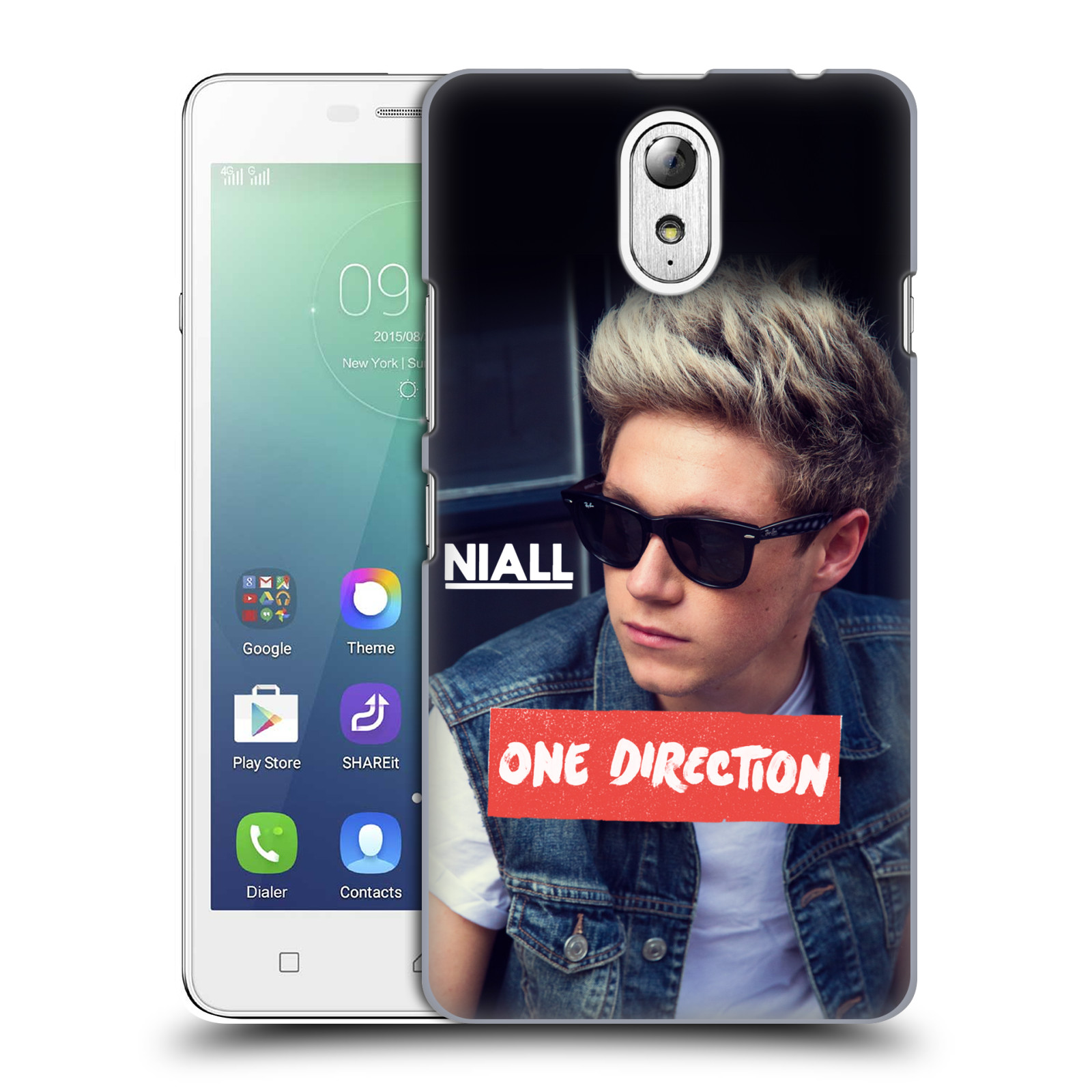 Plastové pouzdro na mobil Lenovo Vibe P1m HEAD CASE One Direction - Niall