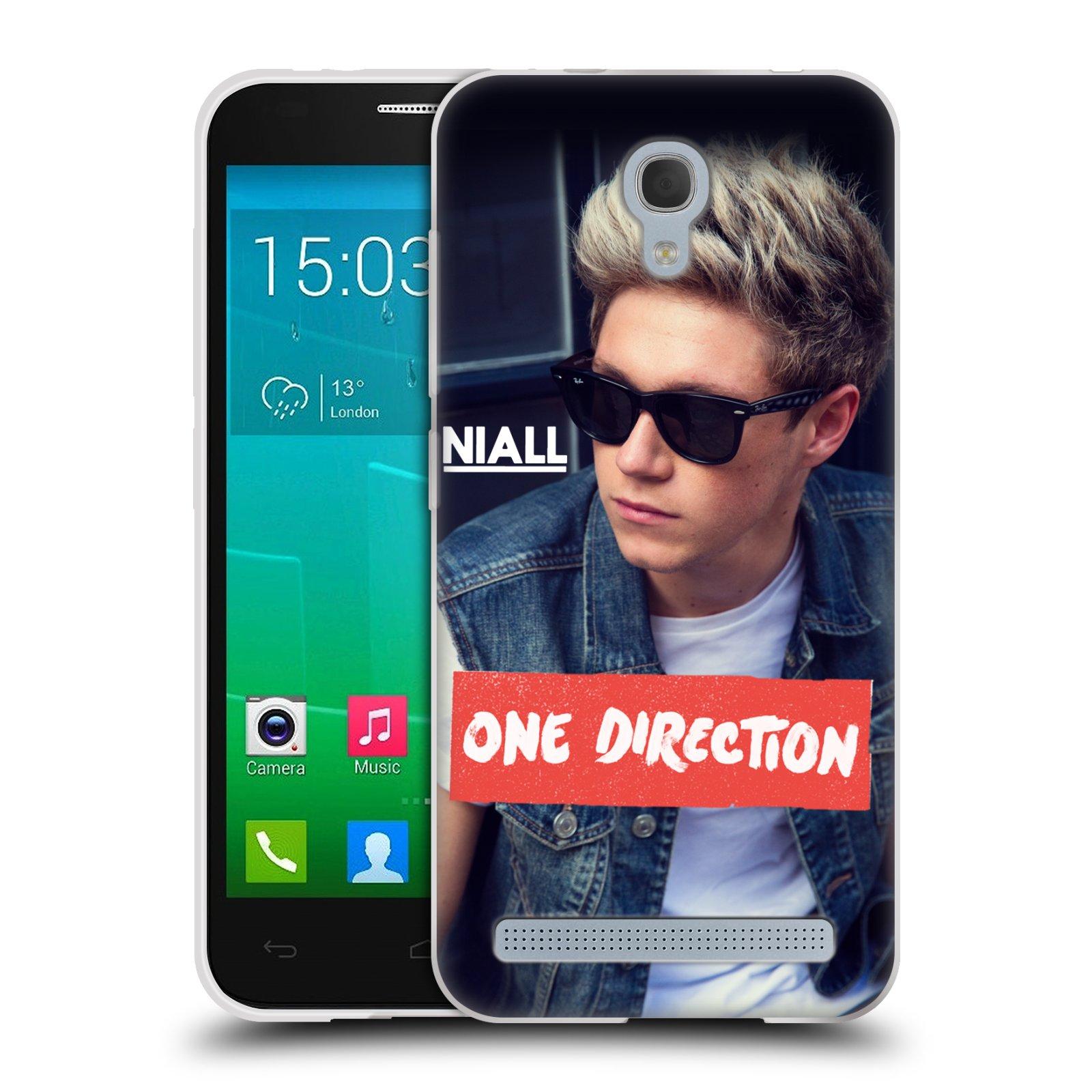 Silikonové pouzdro na mobil Alcatel One Touch Idol 2 Mini S 6036Y HEAD CASE One Direction - Niall (Silikonový kryt či obal One Direction Official na mobilní telefon Alcatel Idol 2 Mini S OT-6036Y)