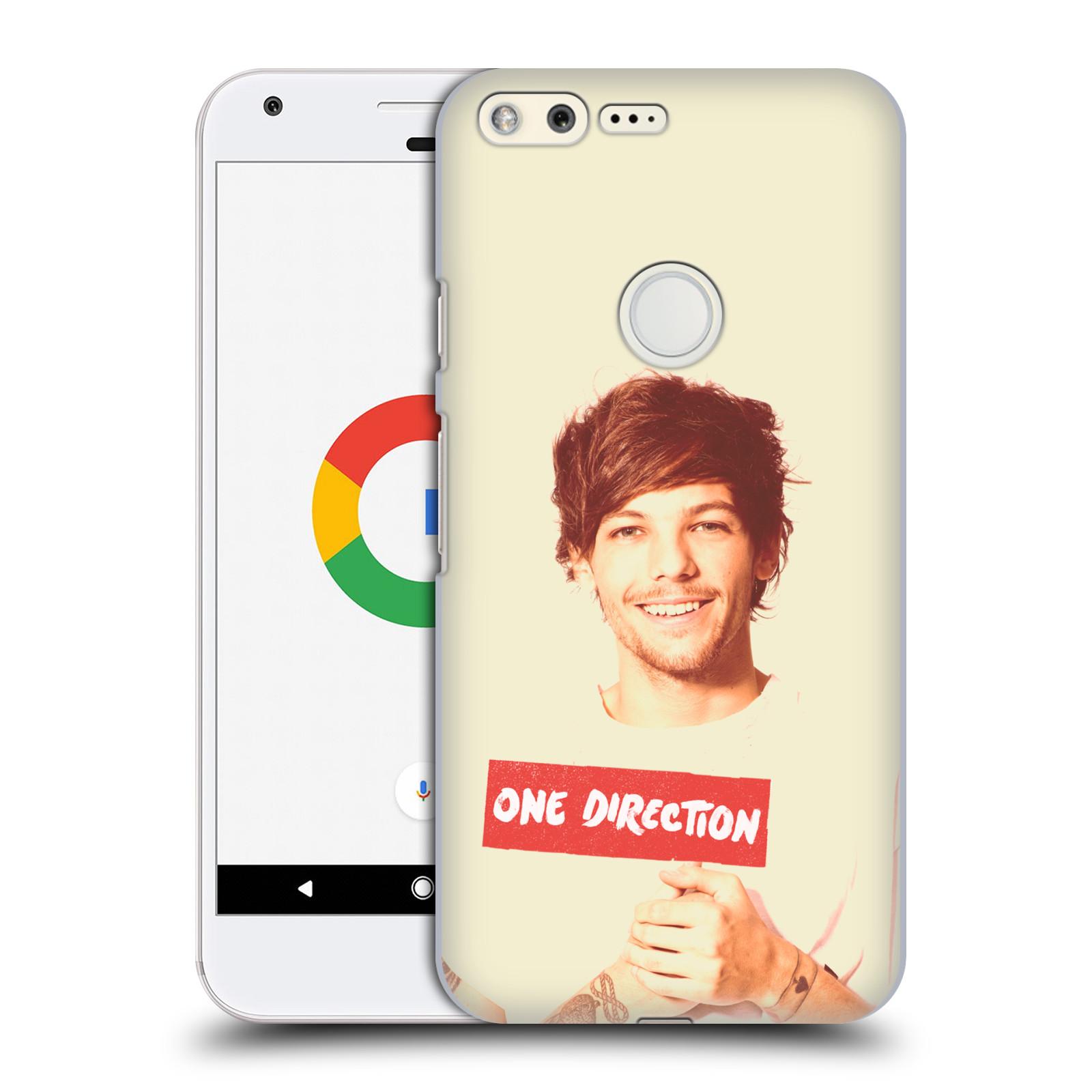 Plastové pouzdro na mobil Google Pixel HEAD CASE One Direction - Louis