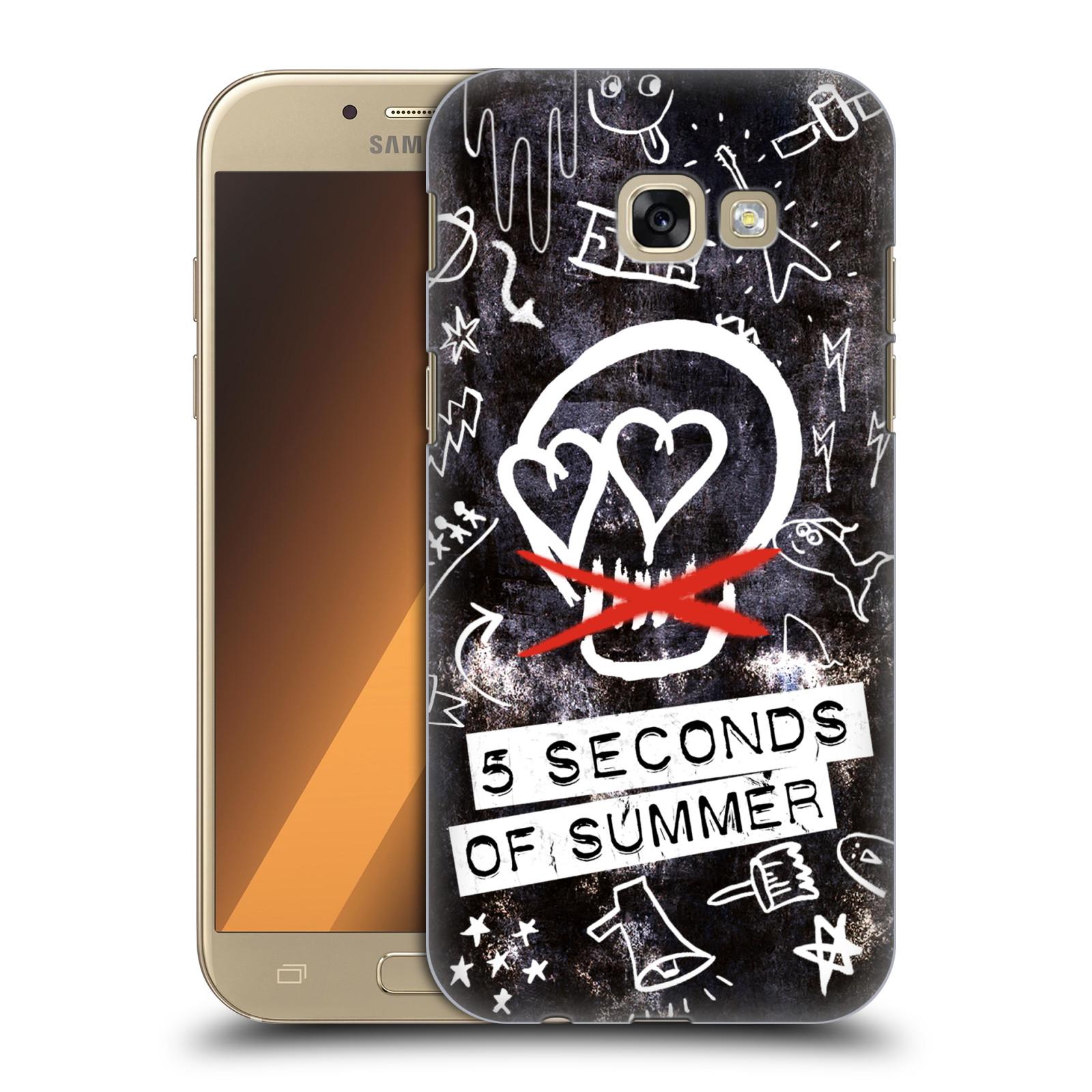 Plastové pouzdro na mobil Samsung Galaxy A5 (2017) HEAD CASE 5 Seconds of Summer - Skull