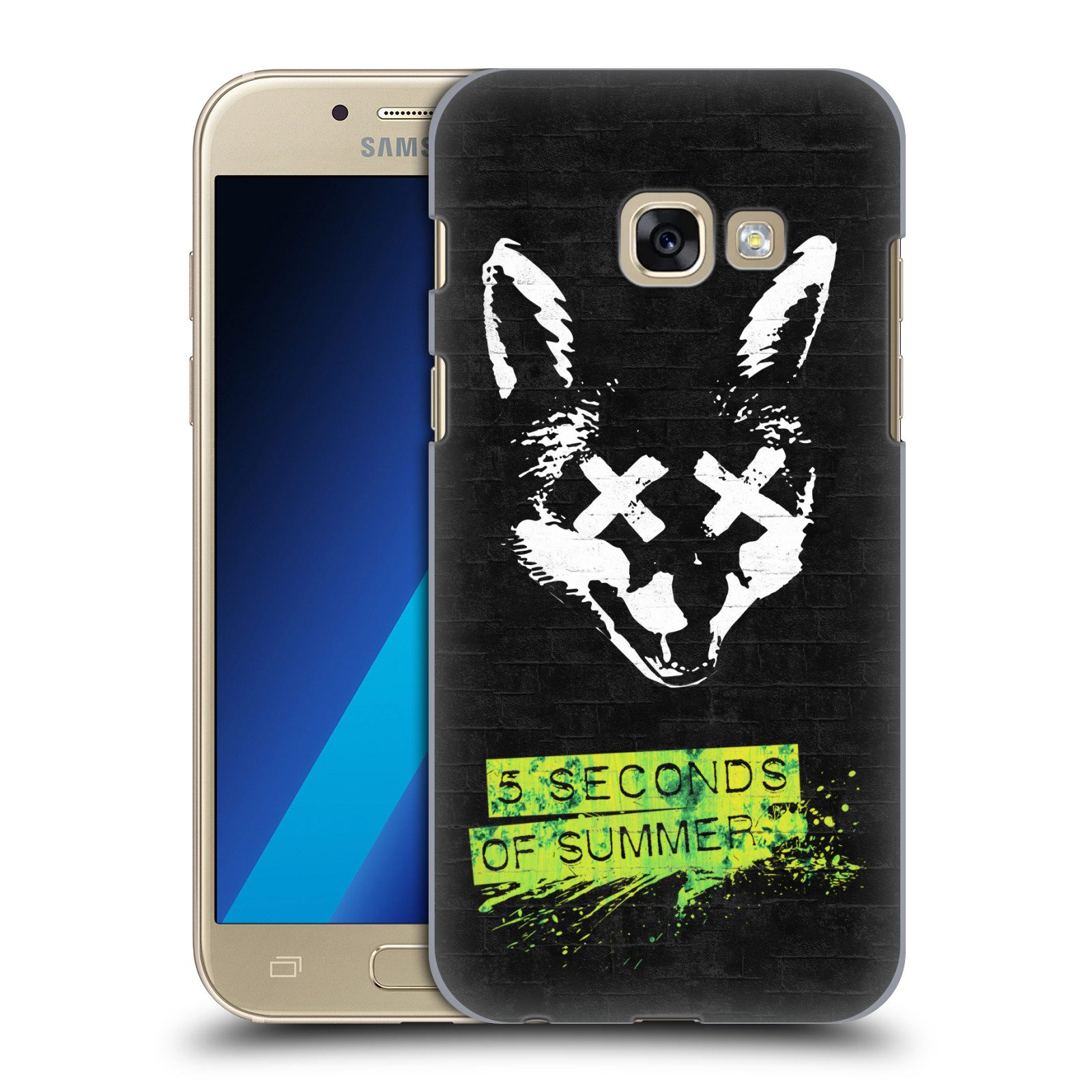 Plastové pouzdro na mobil Samsung Galaxy A3 (2017) HEAD CASE 5 Seconds of Summer - Fox