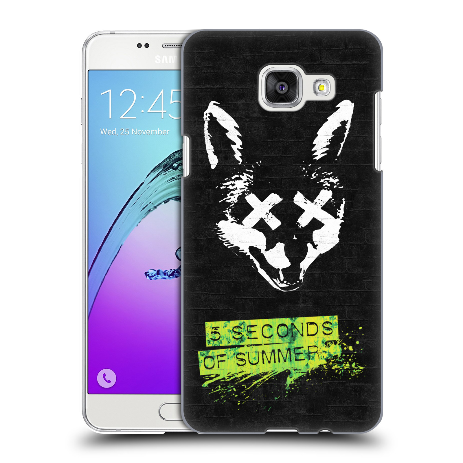 Plastové pouzdro na mobil Samsung Galaxy A5 (2016) HEAD CASE 5 Seconds of Summer - Fox