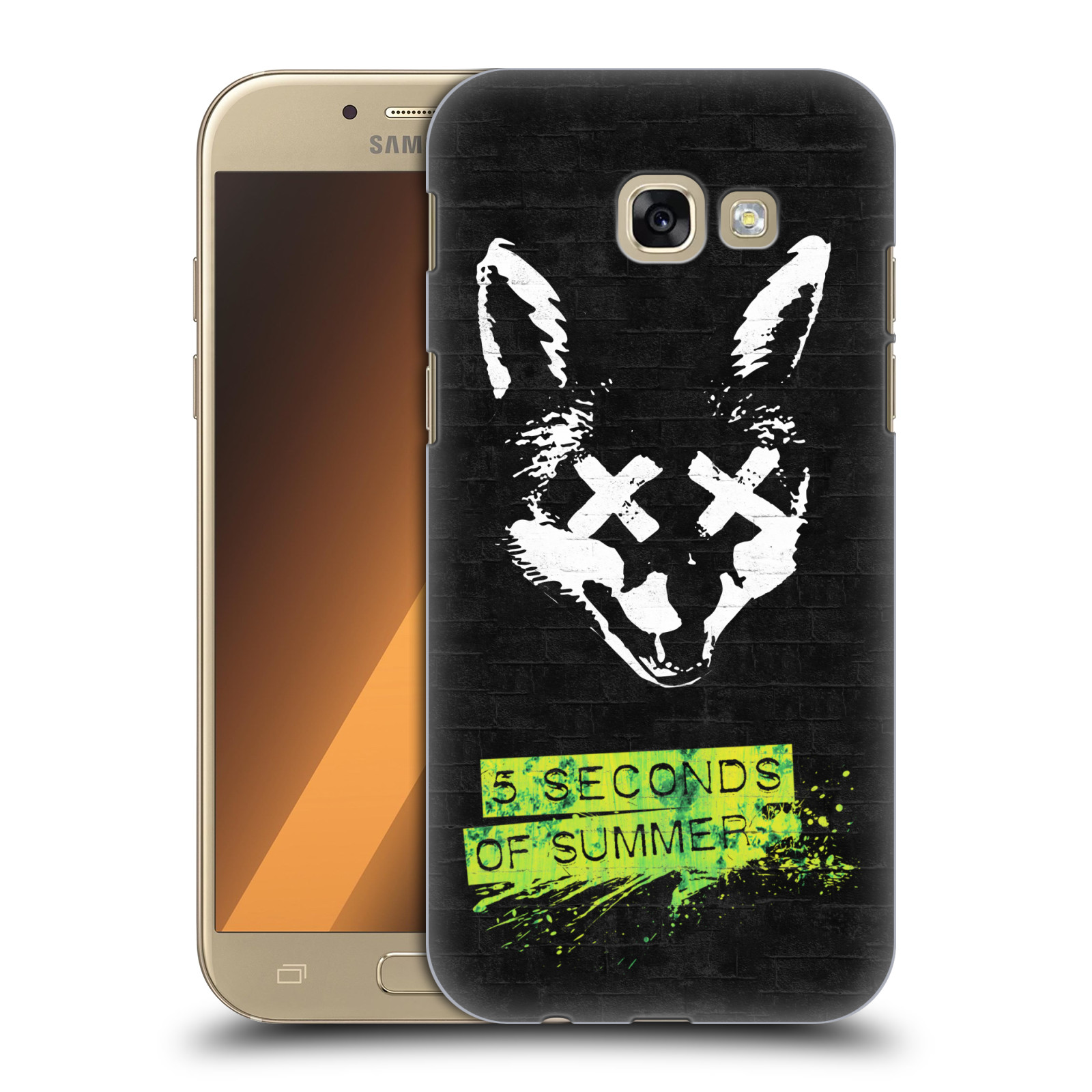 Plastové pouzdro na mobil Samsung Galaxy A5 (2017) HEAD CASE 5 Seconds of Summer - Fox