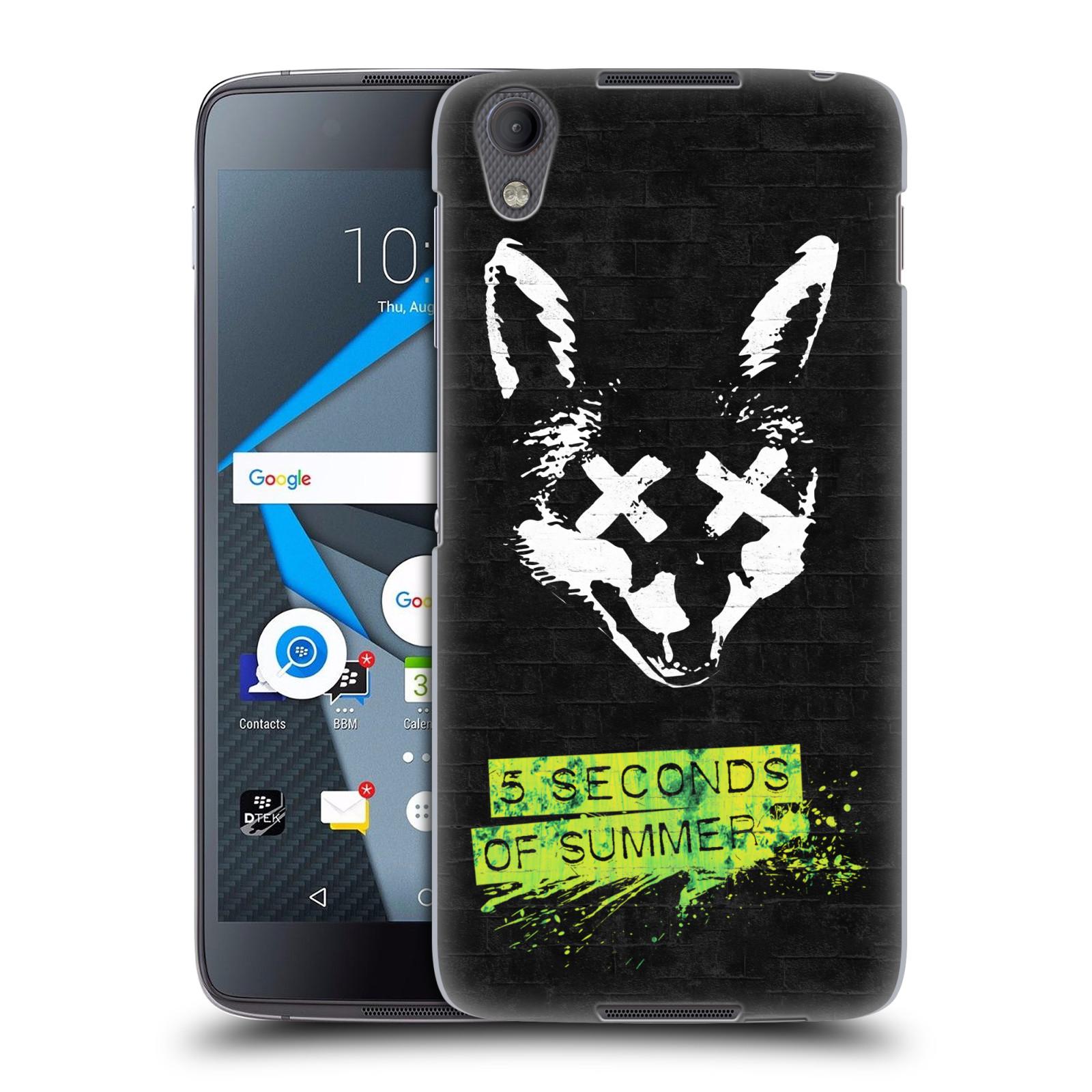 Plastové pouzdro na mobil Blackberry DTEK50 (Neon) - Head Case 5 Seconds of Summer - Fox