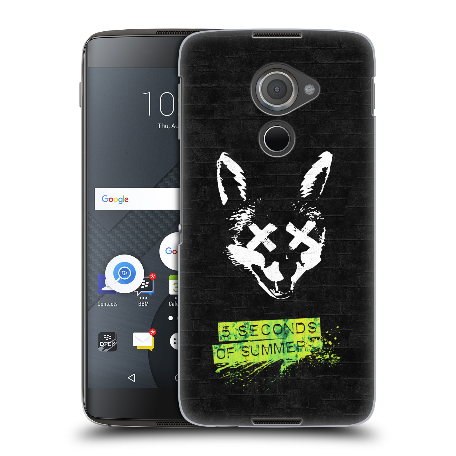 Plastové pouzdro na mobil Blackberry DTEK60 (Argon) - Head Case 5 Seconds of Summer - Fox