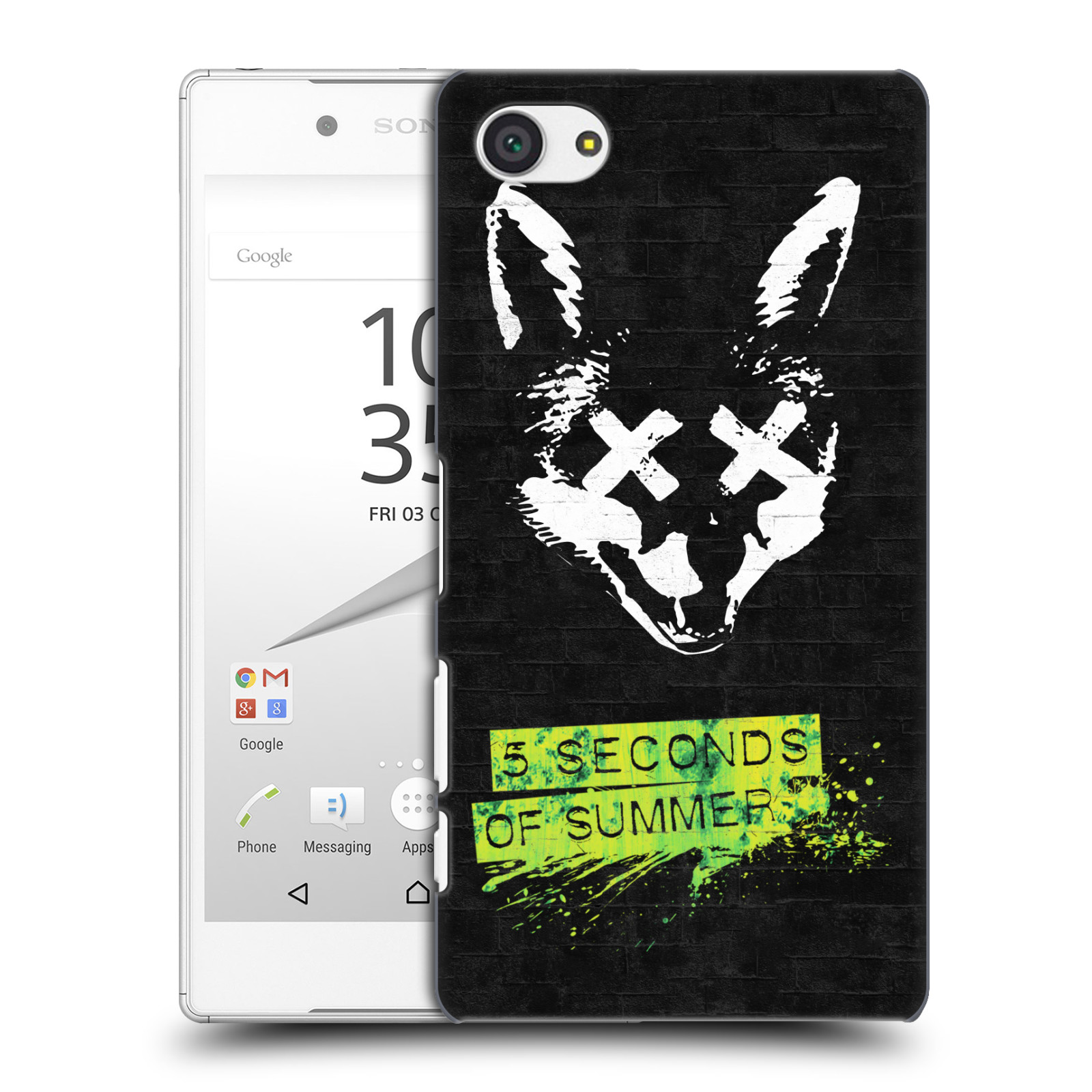 Plastové pouzdro na mobil Sony Xperia Z5 Compact HEAD CASE 5 Seconds of Summer - Fox