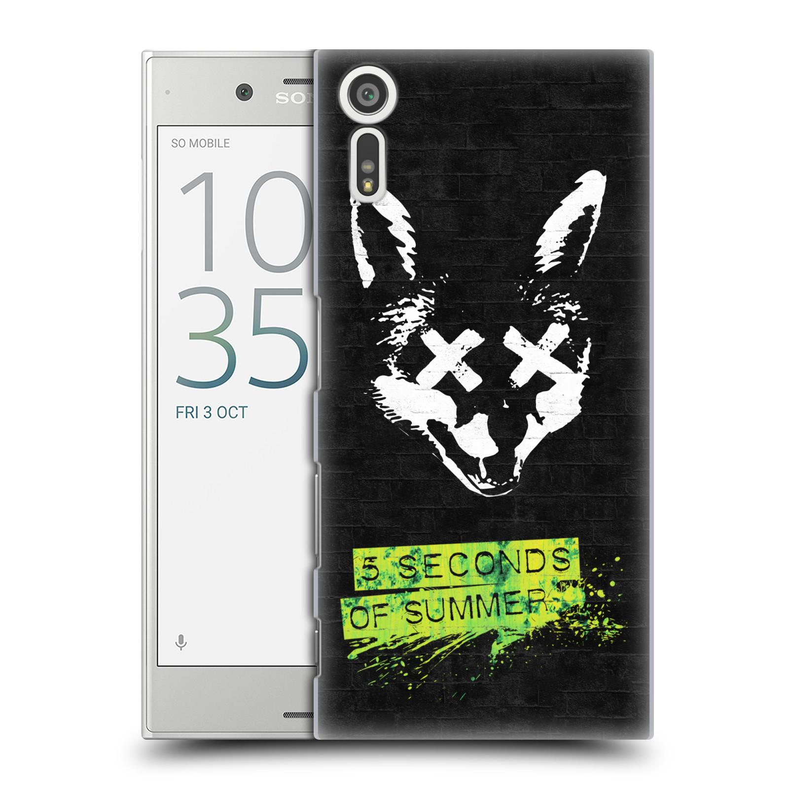 Plastové pouzdro na mobil Sony Xperia XZ - Head Case 5 Seconds of Summer - Fox