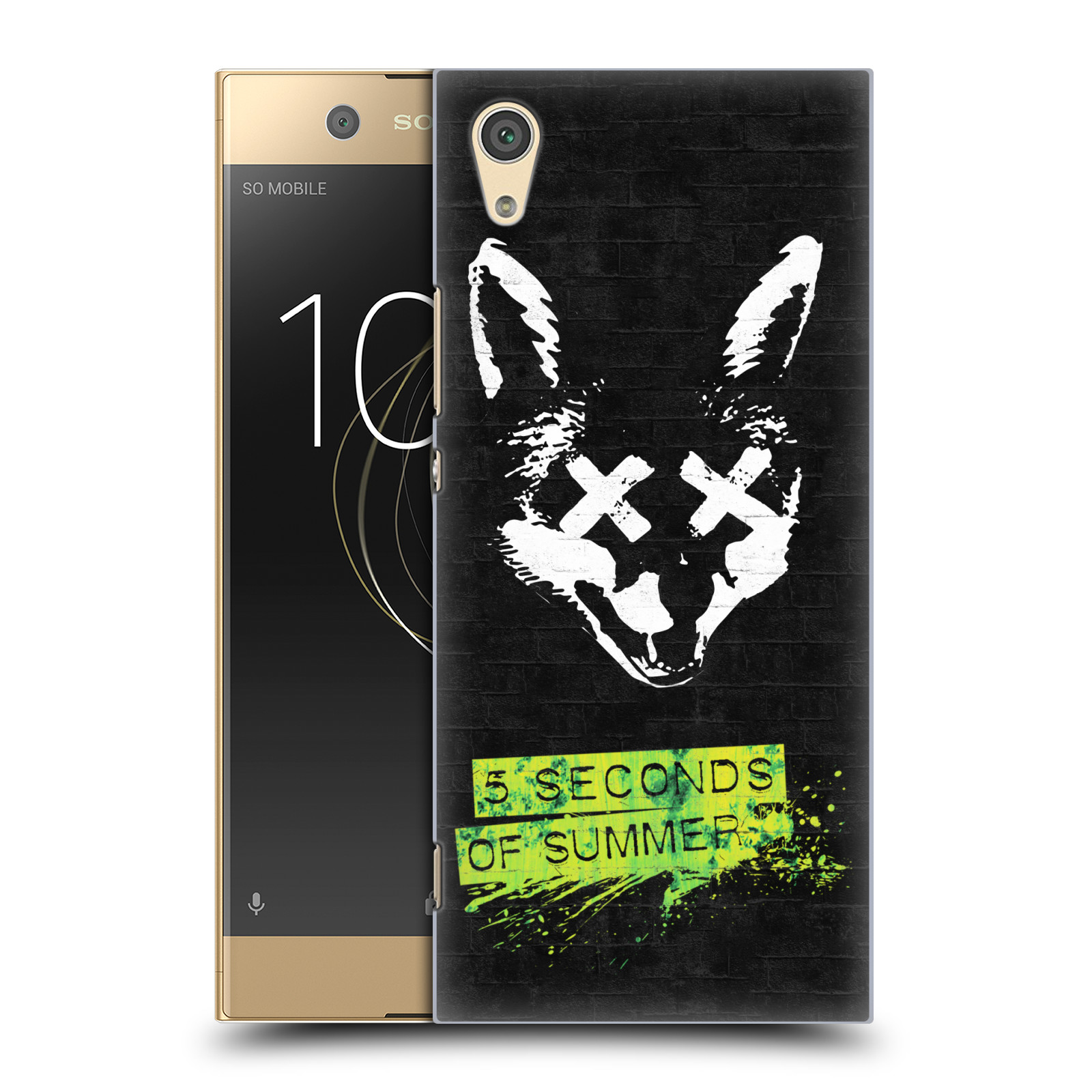 Plastové pouzdro na mobil Sony Xperia XA1 - Head Case - 5 Seconds of Summer - Fox
