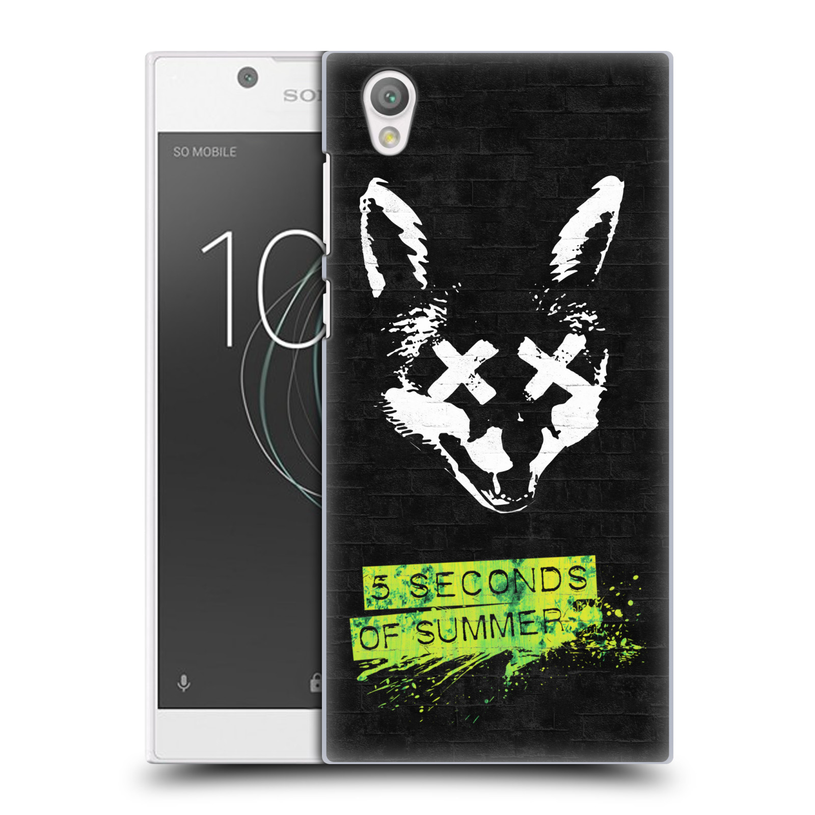 Plastové pouzdro na mobil Sony Xperia L1 - Head Case - 5 Seconds of Summer - Fox