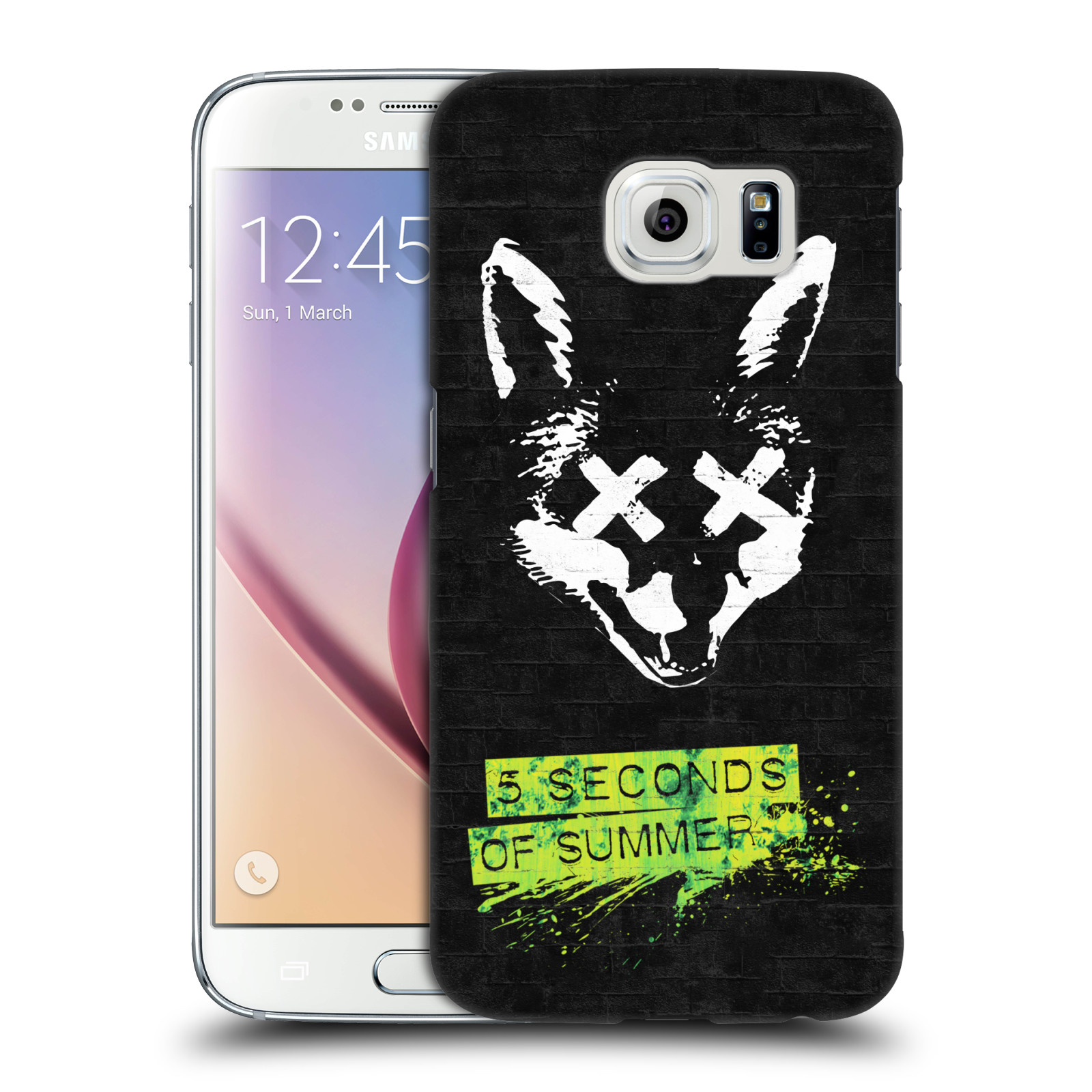 Plastové pouzdro na mobil Samsung Galaxy S6 HEAD CASE 5 Seconds of Summer - Fox