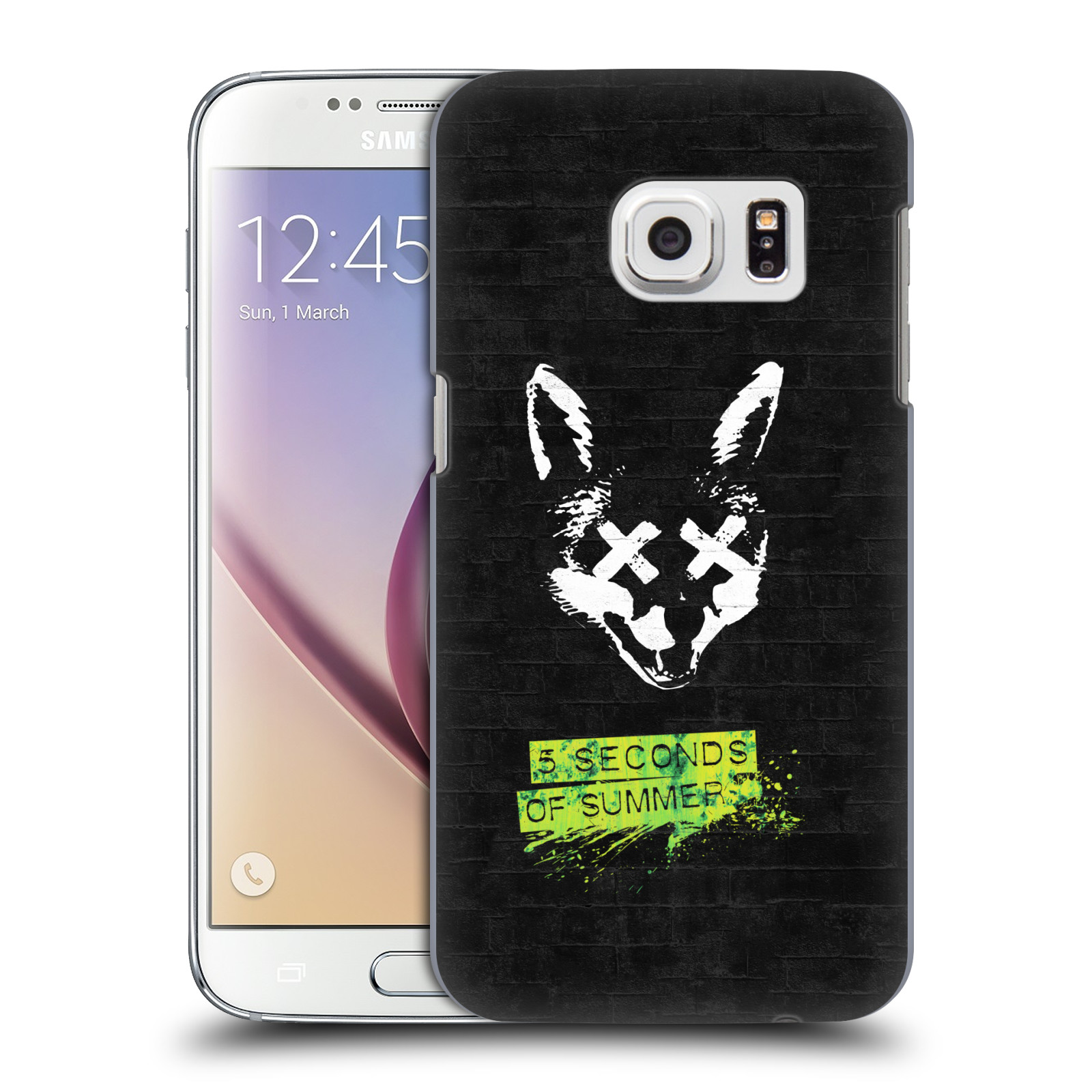 Plastové pouzdro na mobil Samsung Galaxy S7 HEAD CASE 5 Seconds of Summer - Fox