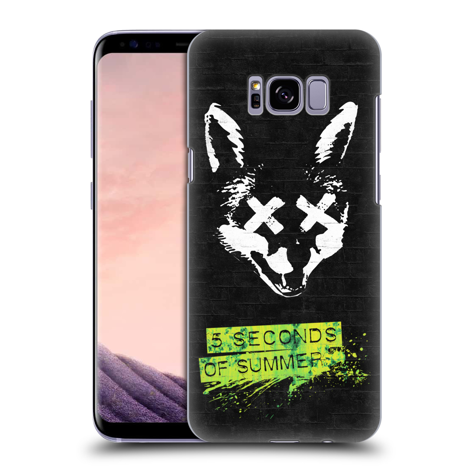 Plastové pouzdro na mobil Samsung Galaxy S8+ (Plus) Head Case 5 Seconds of Summer - Fox