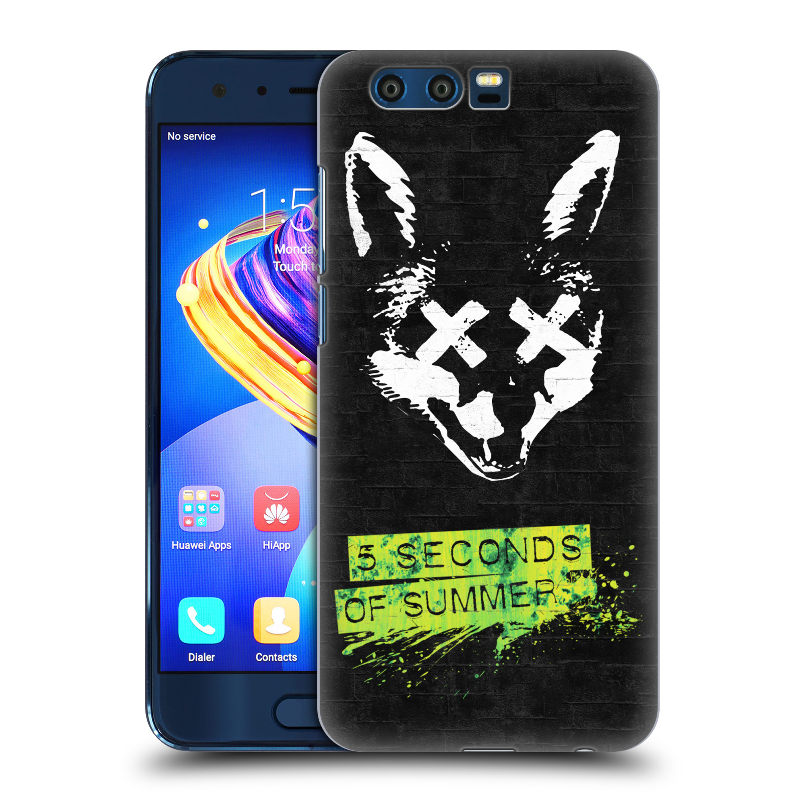 Plastové pouzdro na mobil Honor 9 - Head Case - 5 Seconds of Summer - Fox