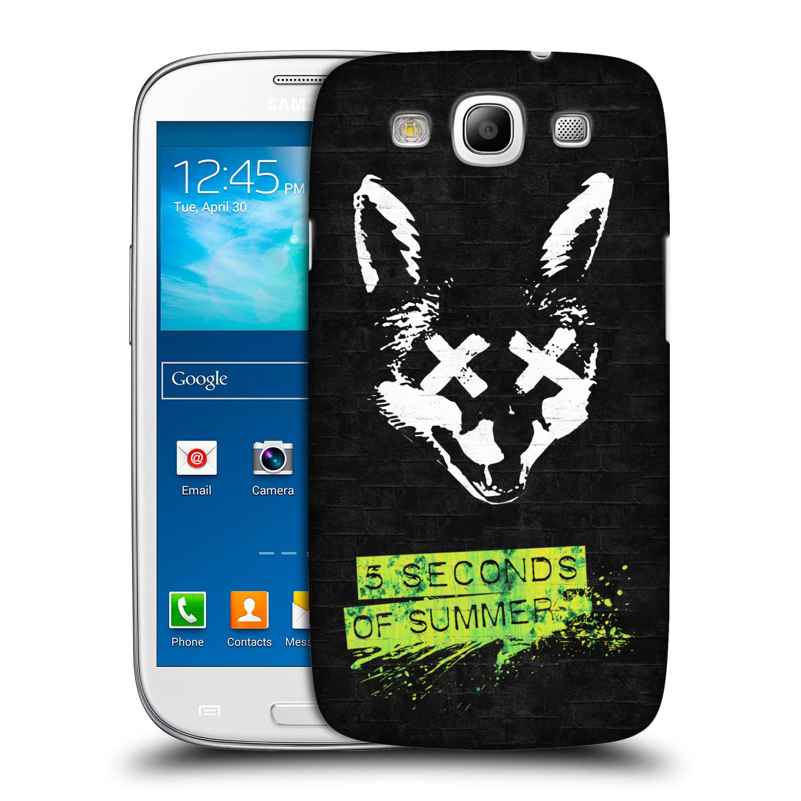 Plastové pouzdro na mobil Samsung Galaxy S III HEAD CASE 5 Seconds of Summer - Fox